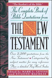The COMPLETE BOOK OF BIBLE QUOTATIONS FROM THE NEW TESTAMENT