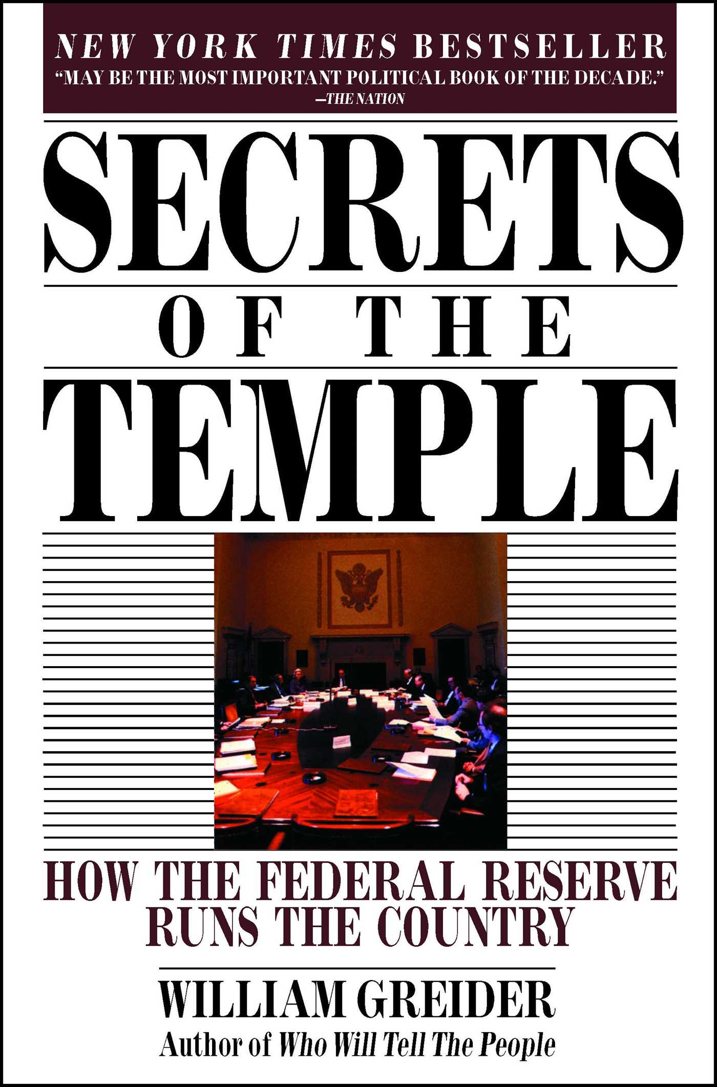 Secrets of the temple 9780671675561 hr