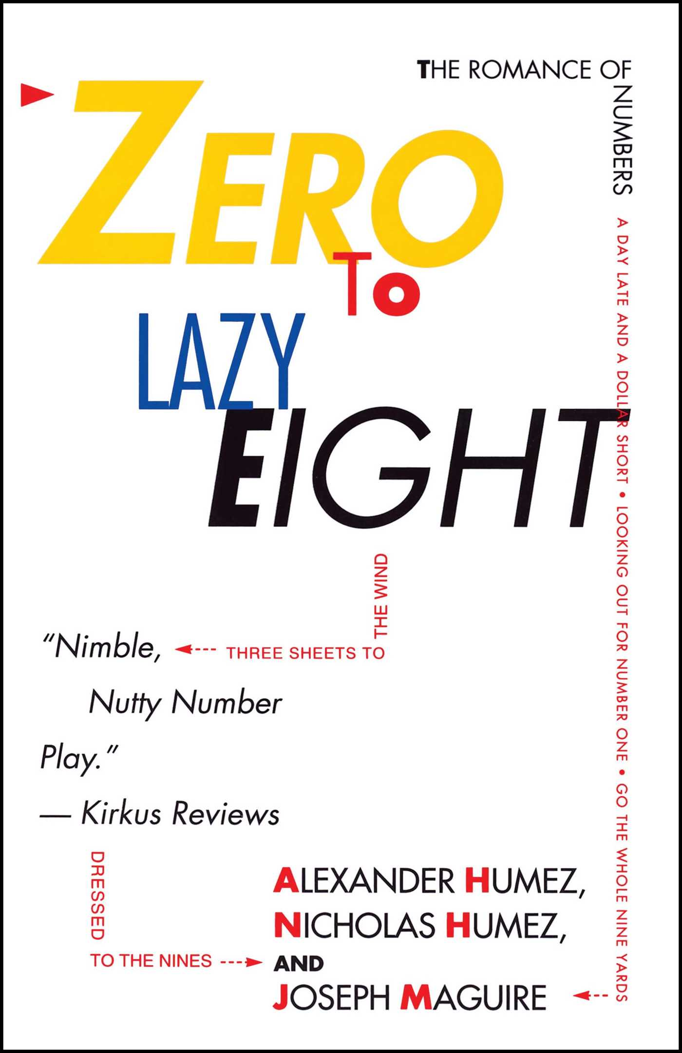 Zero to lazy eight 9780671742812 hr