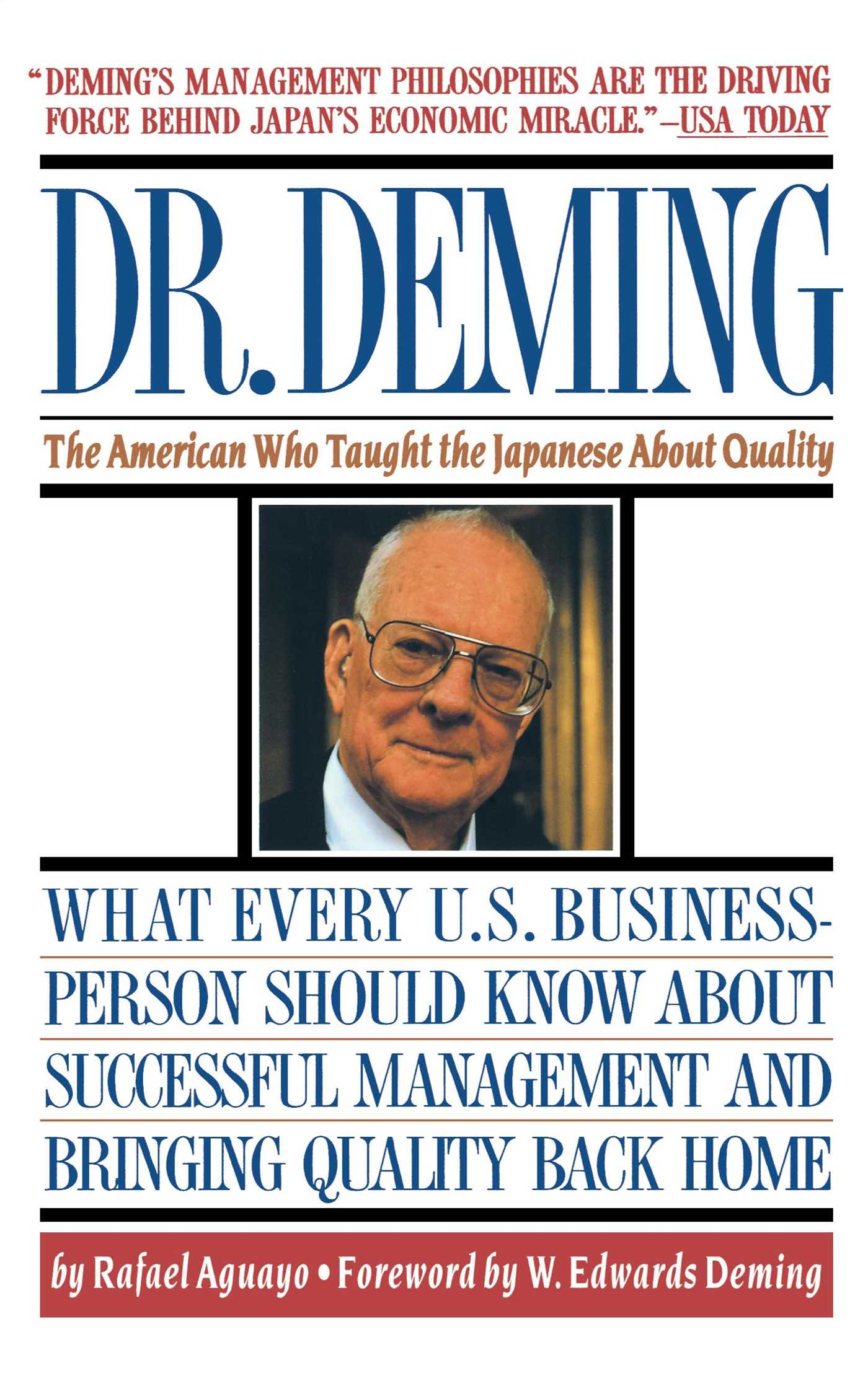 Dr deming 9780671746216 hr