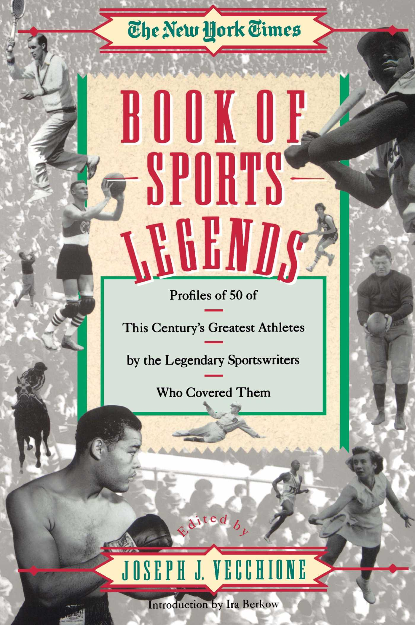 New york times book of sports legends 9780671760397 hr