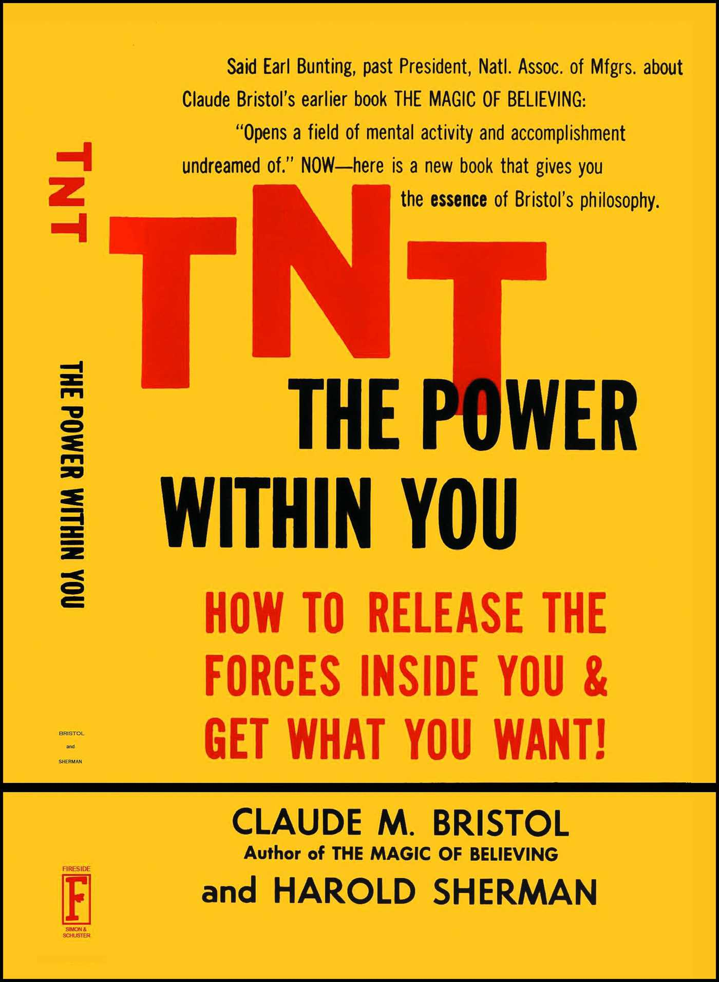 Tnt the power within you 9780671765460 hr