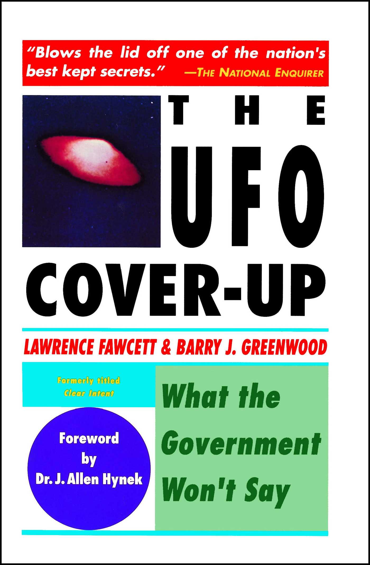 Ufo cover up 9780671765552 hr