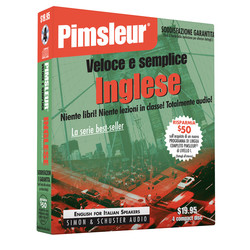 Pimsleur English for Italian Speakers Quick & Simple Course - Level 1 Lessons 1-8 CD