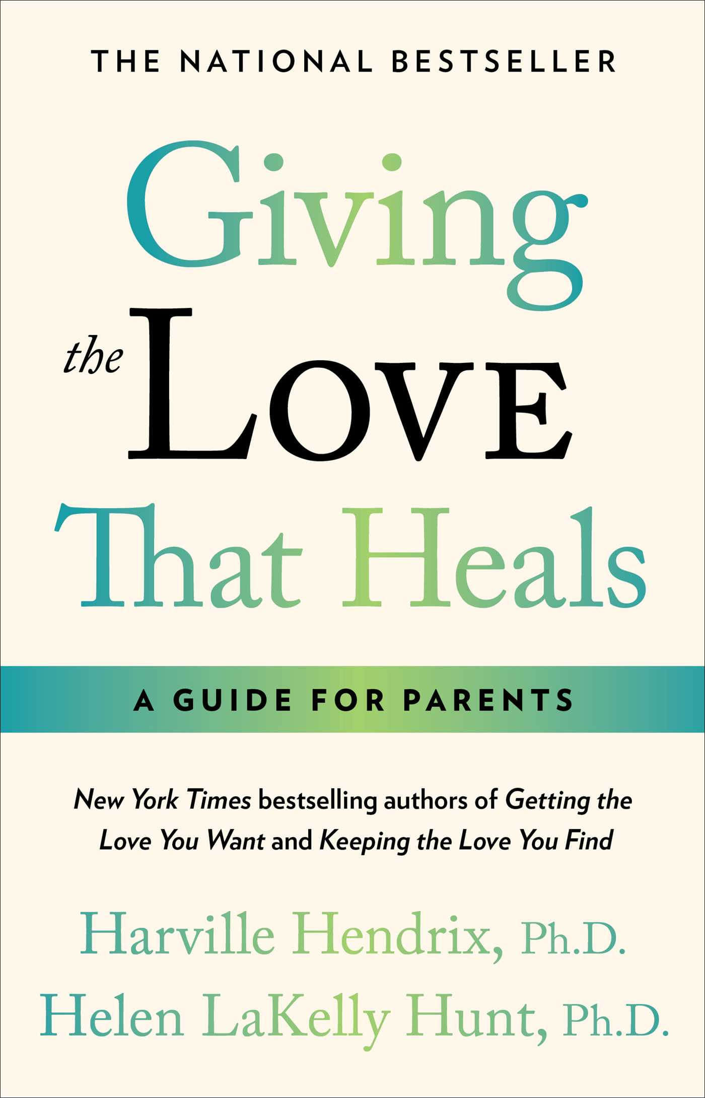 Giving the love that heals 9780671793999 hr