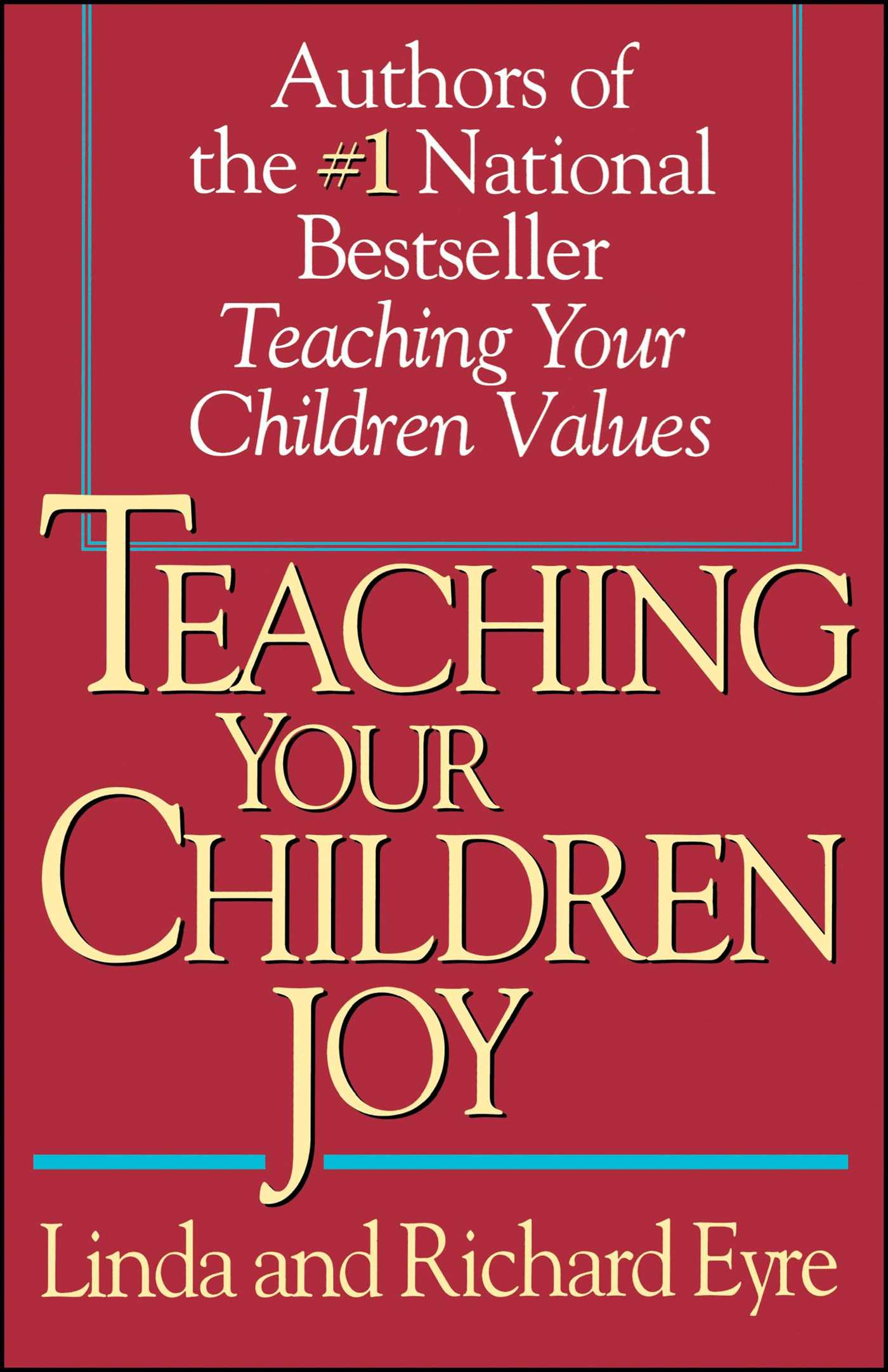 Teaching your children joy 9780671887254 hr