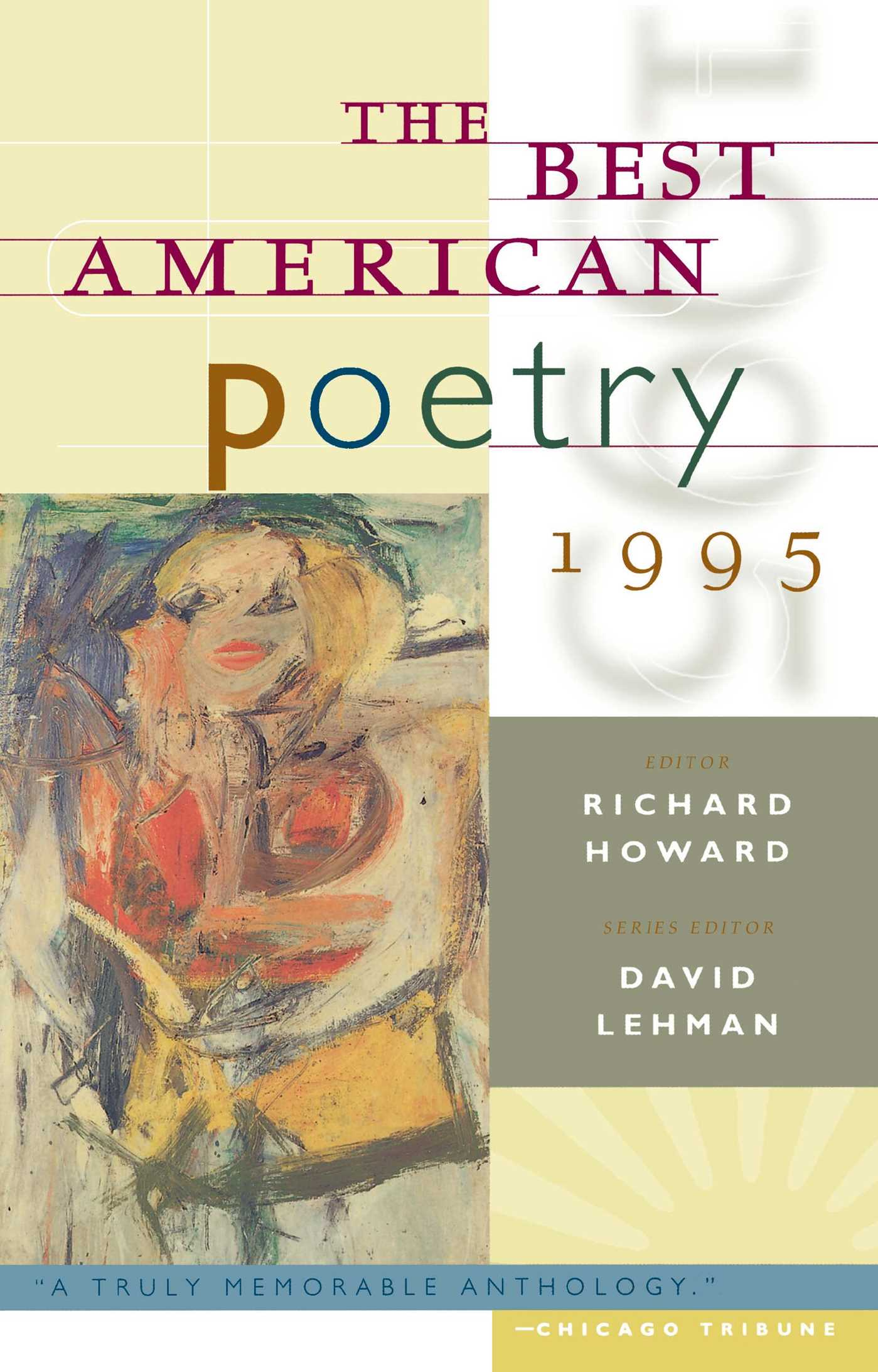 The best american poetry 1995 9780684801513 hr