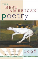 The Best American Poetry 1998