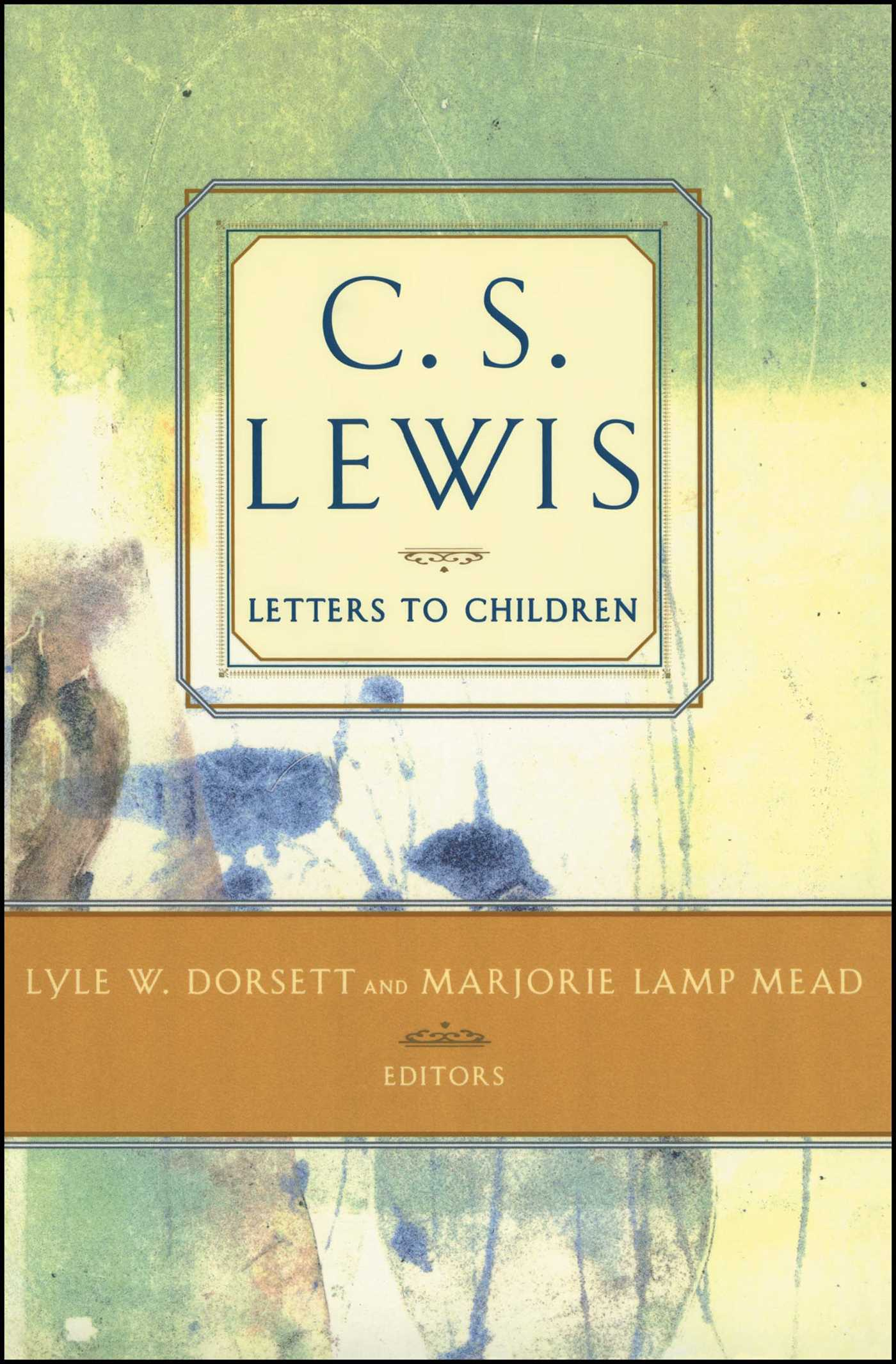 C s lewis letters to children 9780684823720 hr