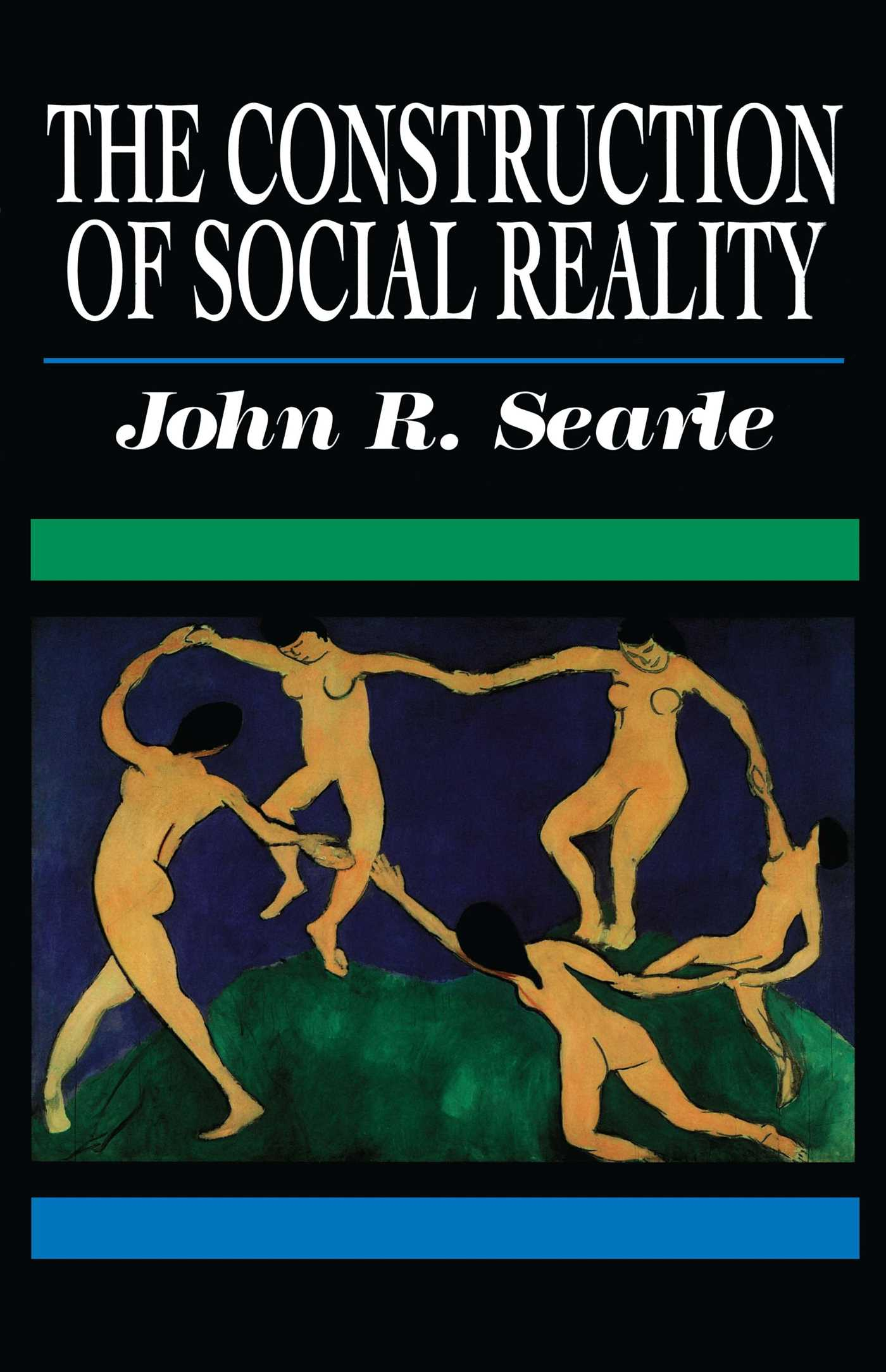 Construction of social reality 9780684831794 hr