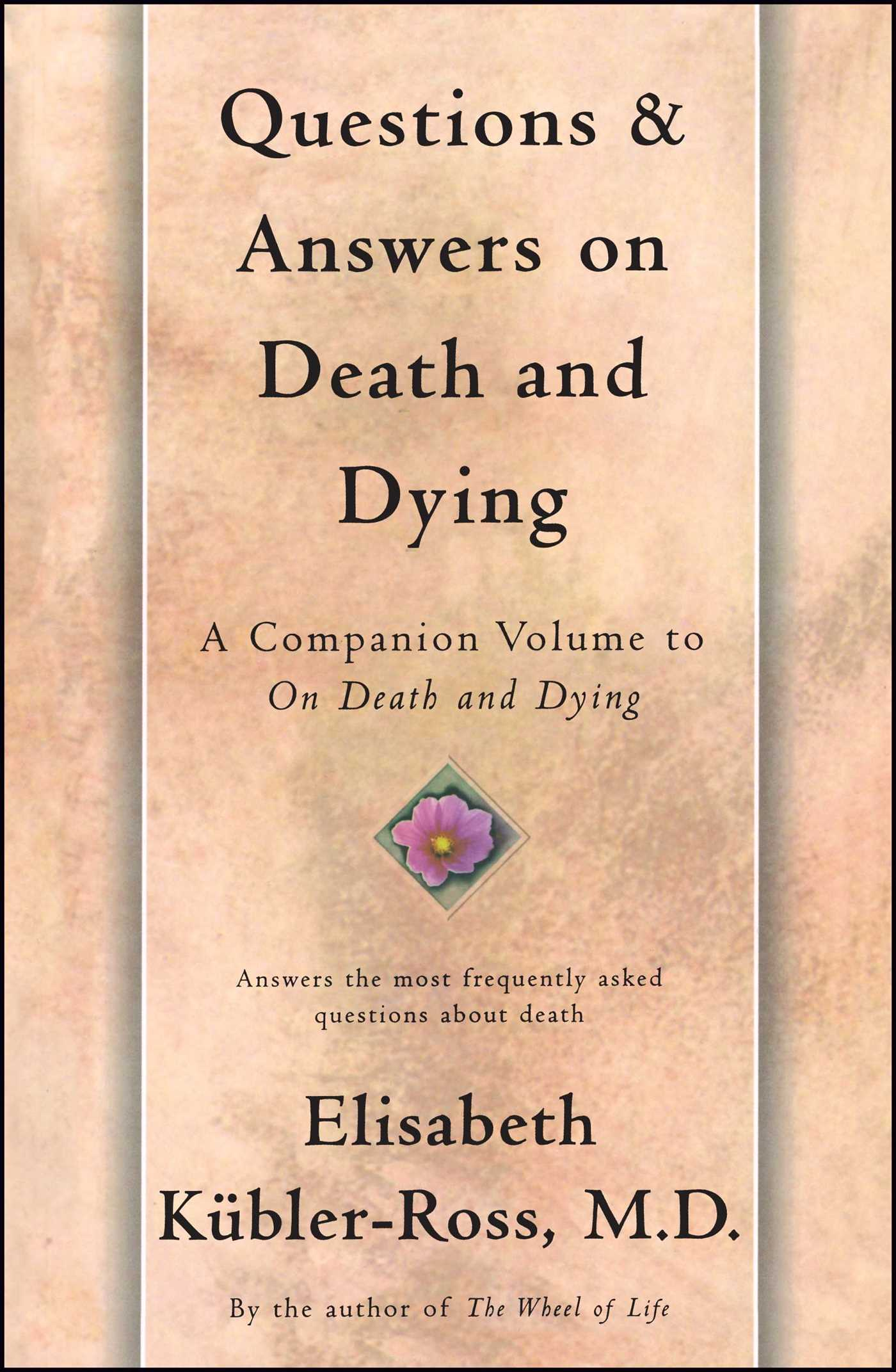 Questions and answers on death and dying 9780684839370 hr