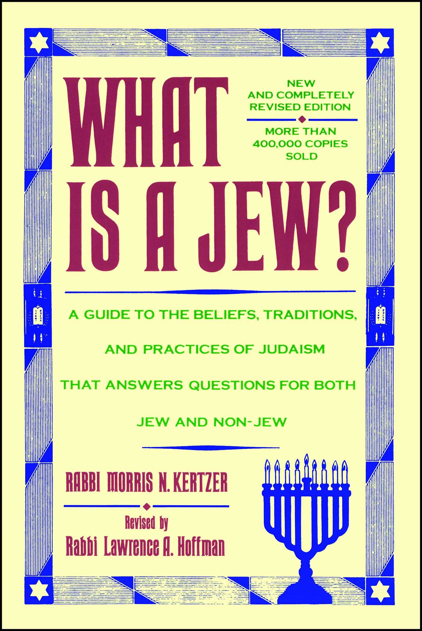 What is a jew 9780684842981 hr