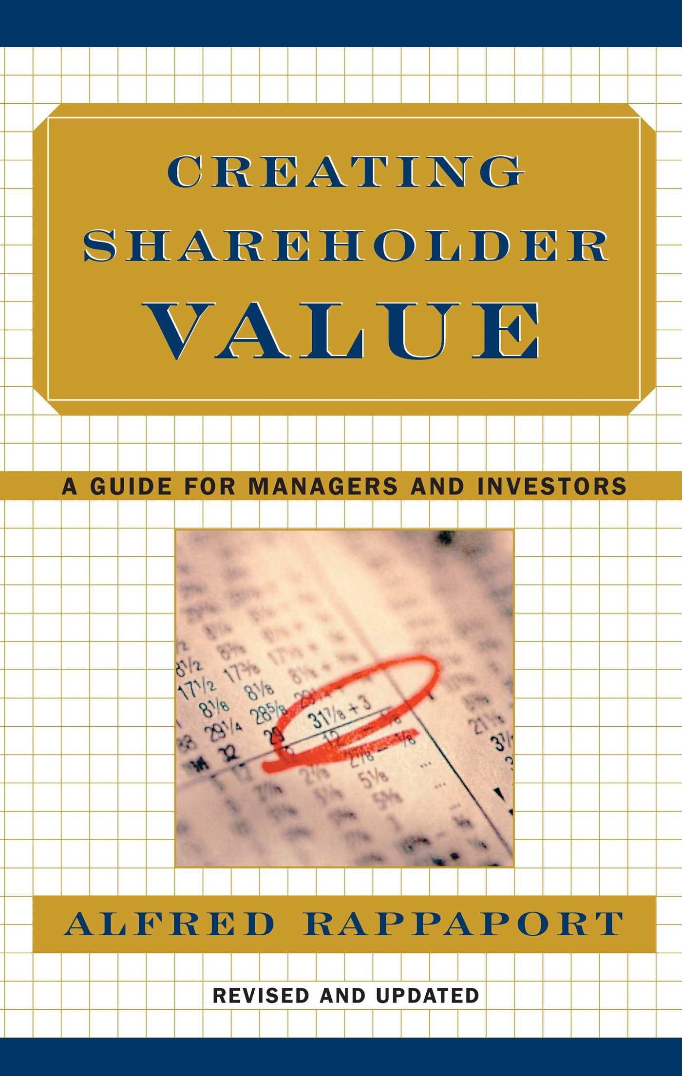 Creating shareholder value 9780684844107 hr