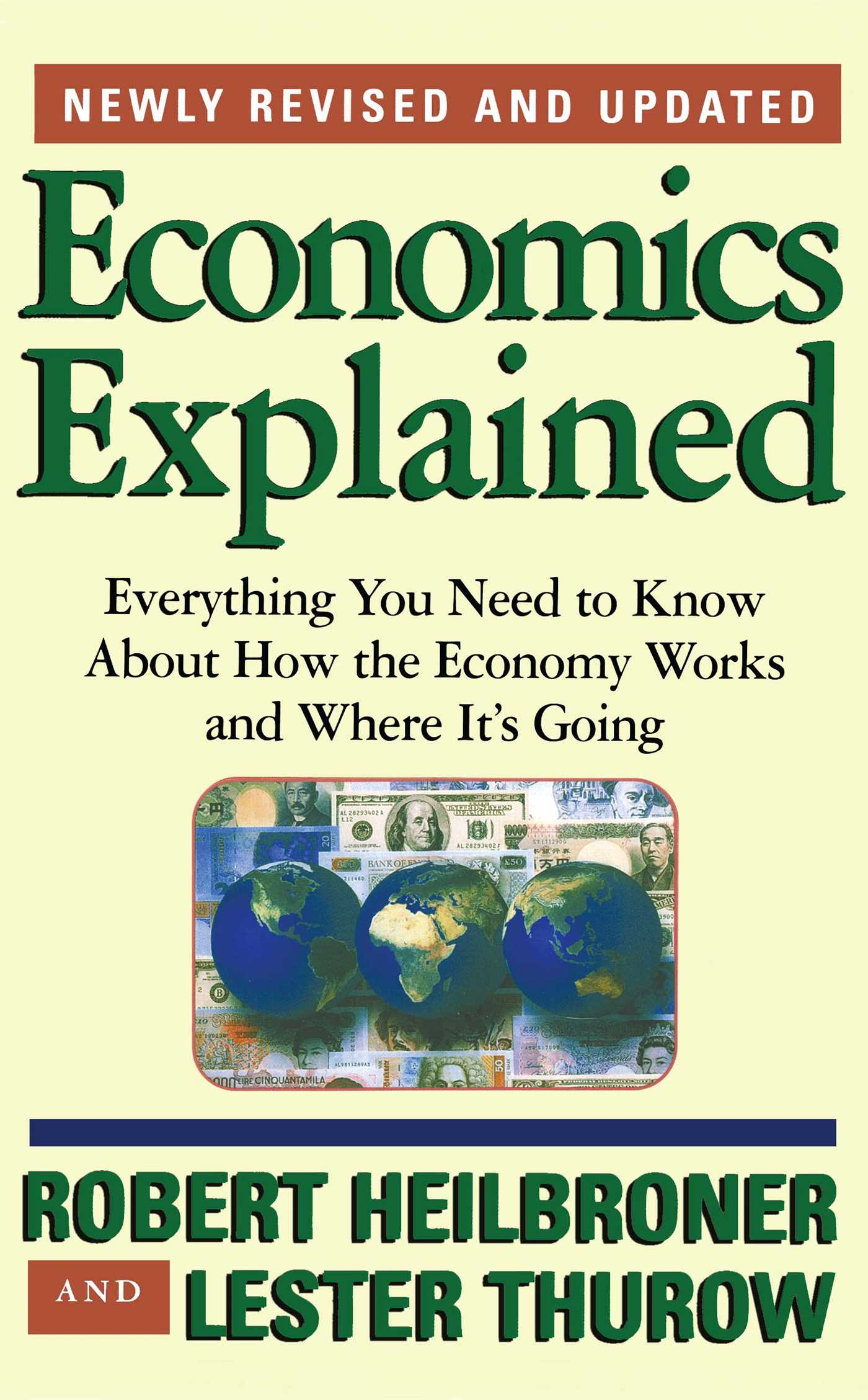 Economics explained 9780684846415 hr