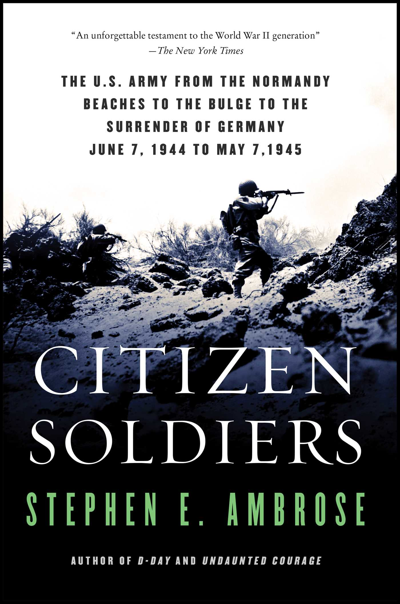 Citizen soldiers 9780684848013 hr