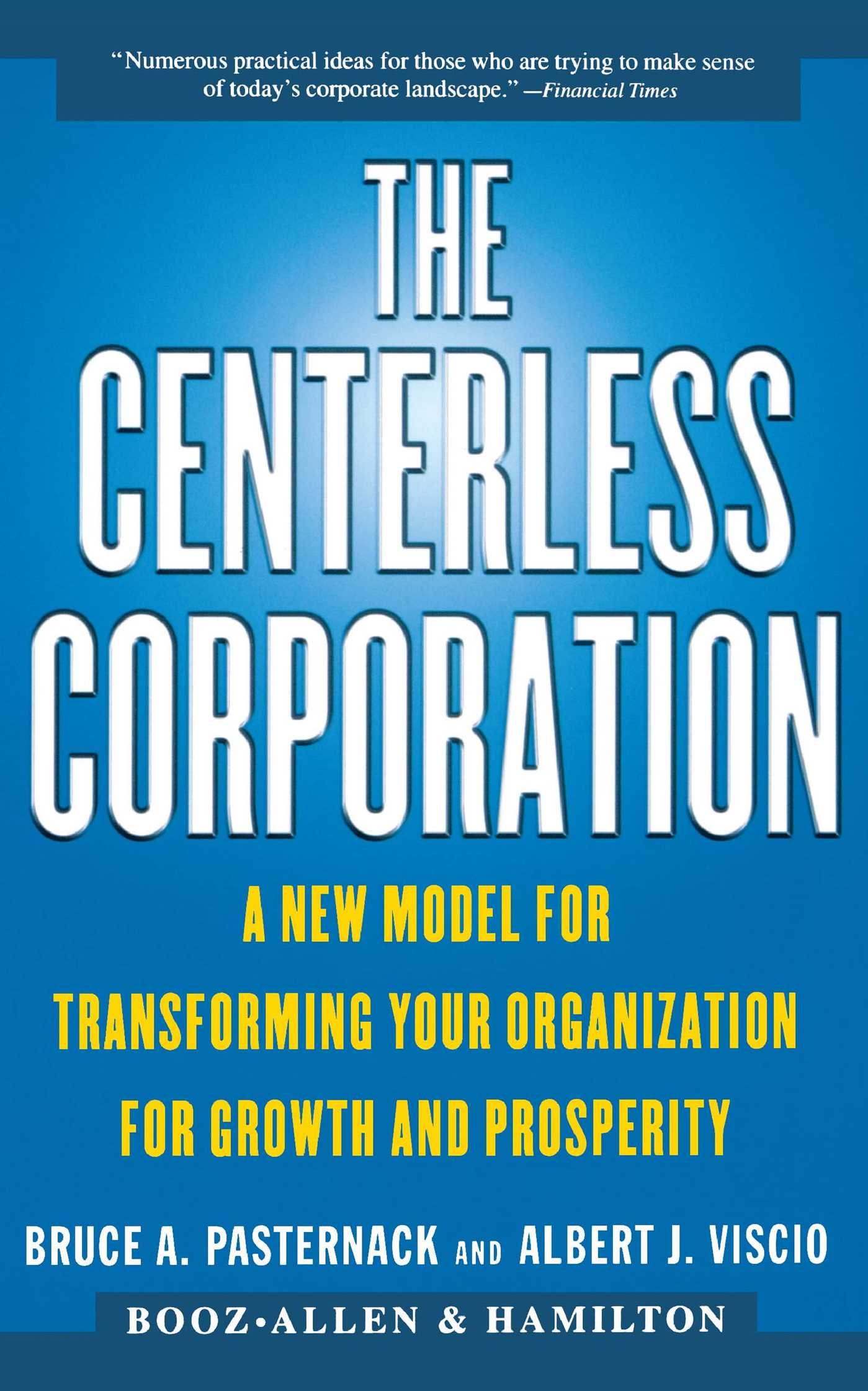 The centerless corporation 9780684851990 hr