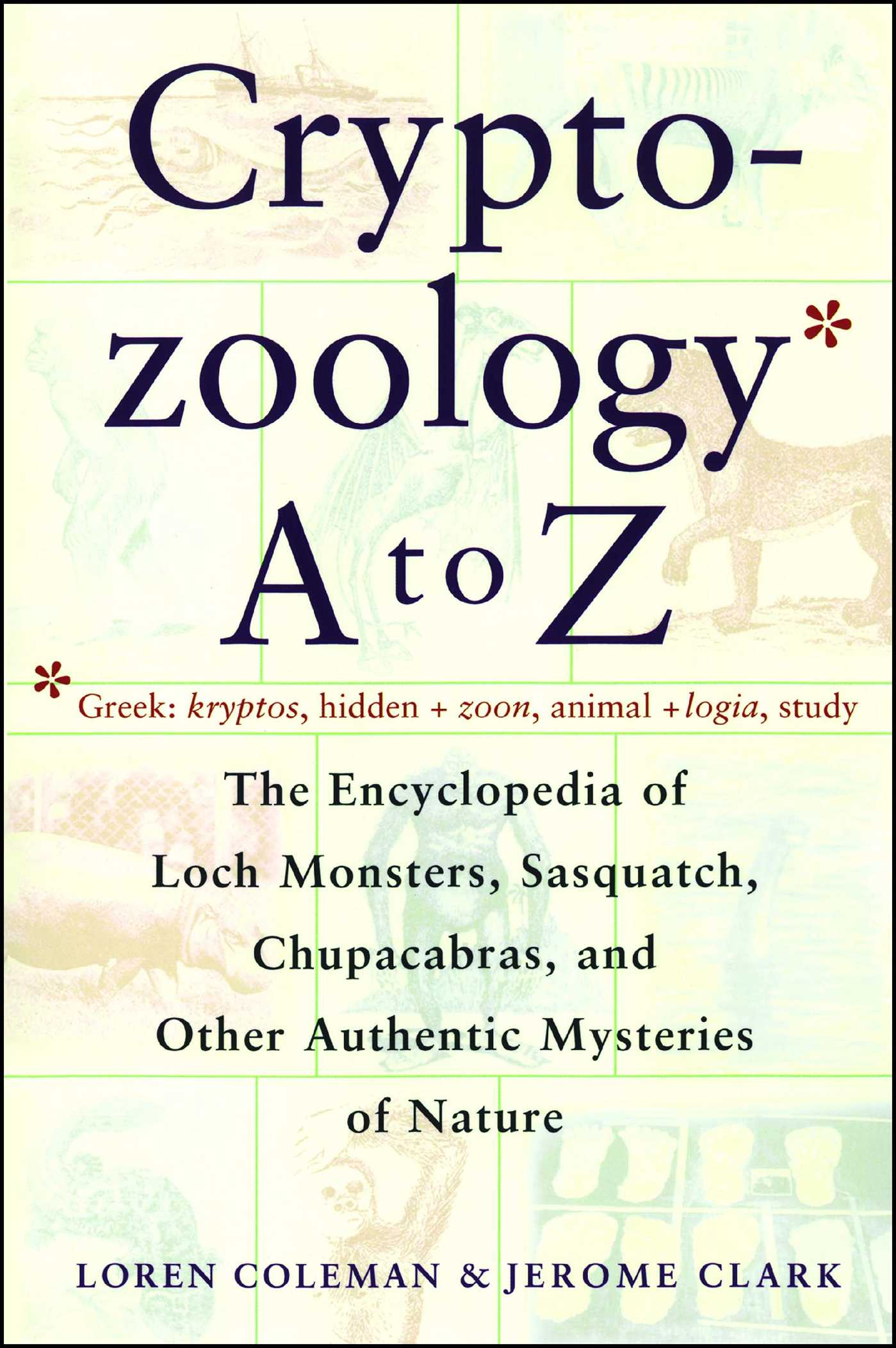 Cryptozoology a to z 9780684856025 hr