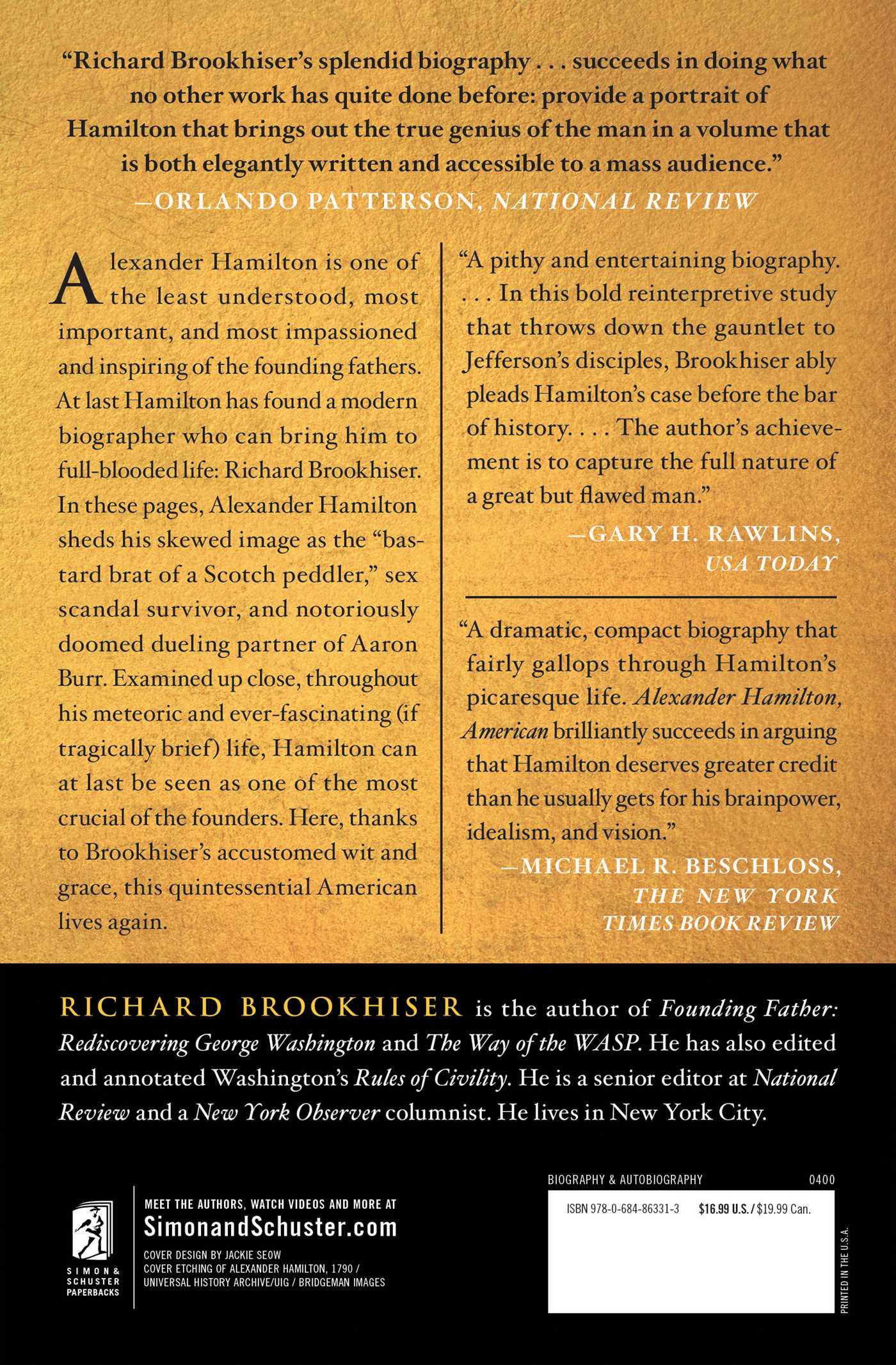 alexander hamilton american book by richard brookhiser alexander hamilton american book by richard brookhiser official publisher page simon schuster