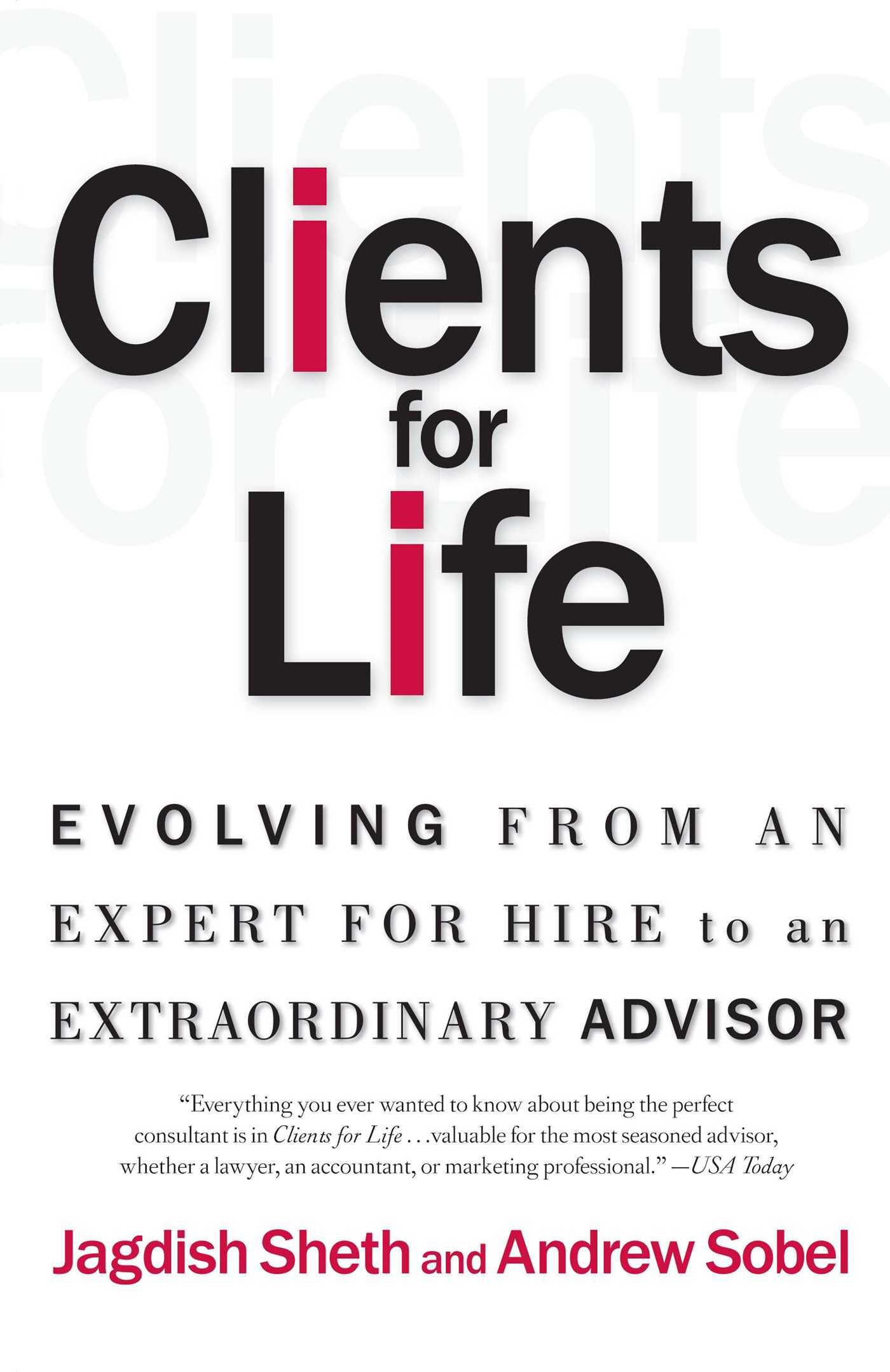 Clients for life 9780684870304 hr