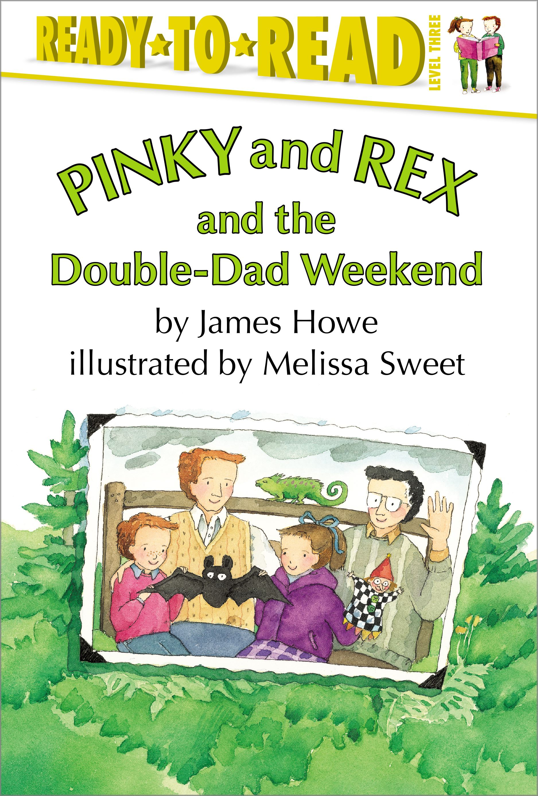 Pinky and rex and the double dad weekend 9780689318719 hr