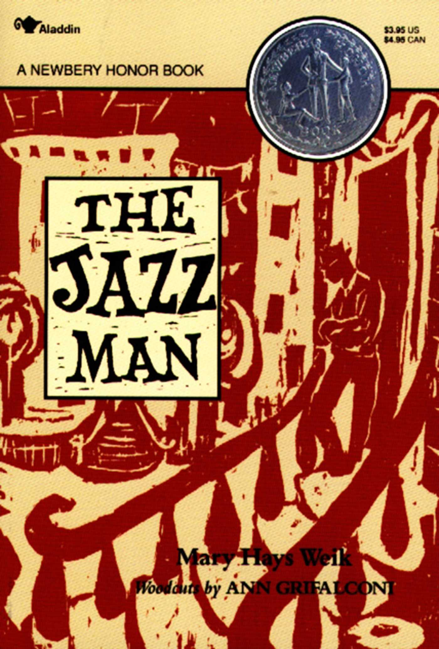 The jazz man 9780689717673 hr