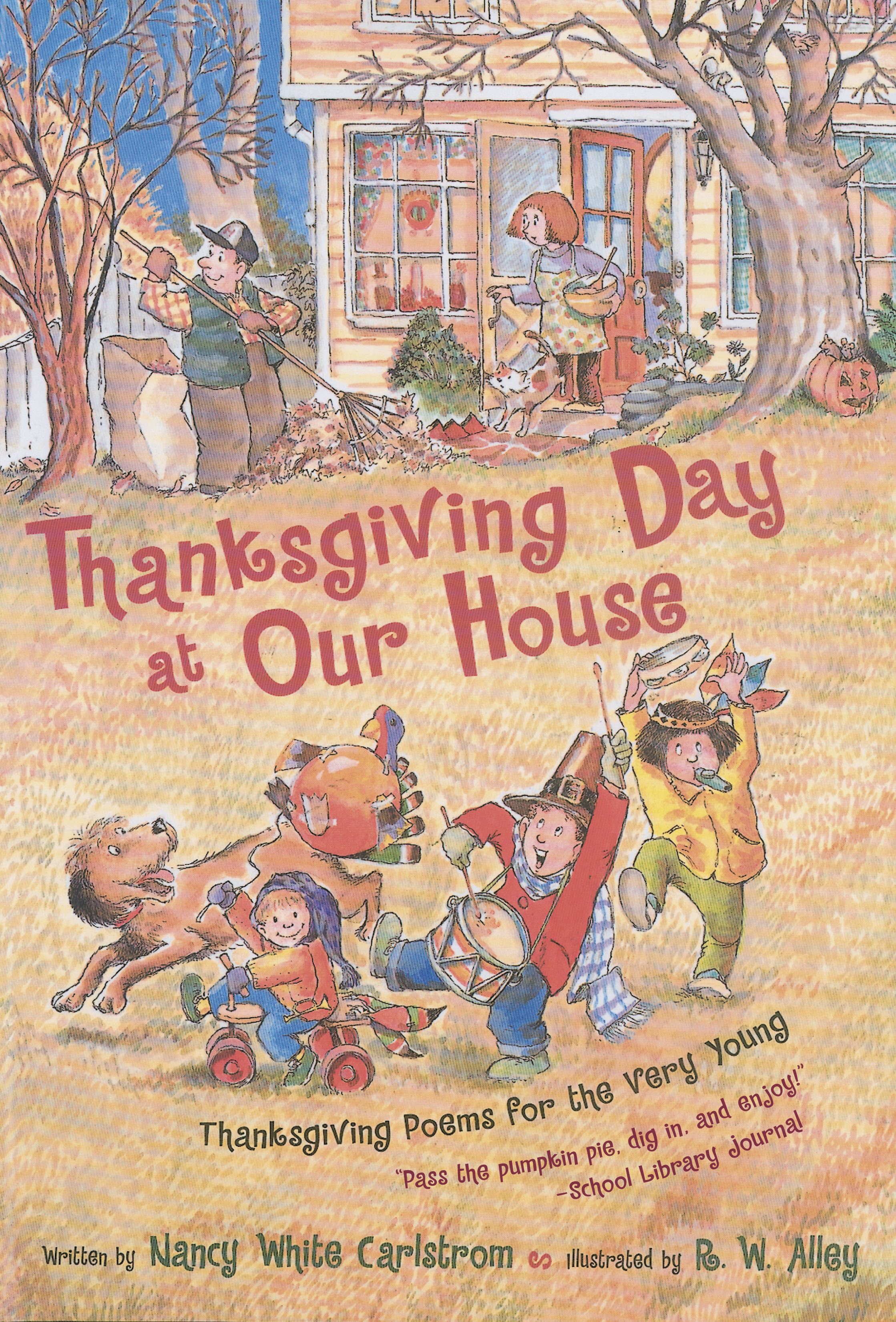 Thanksgiving day at our house 9780689853180 hr