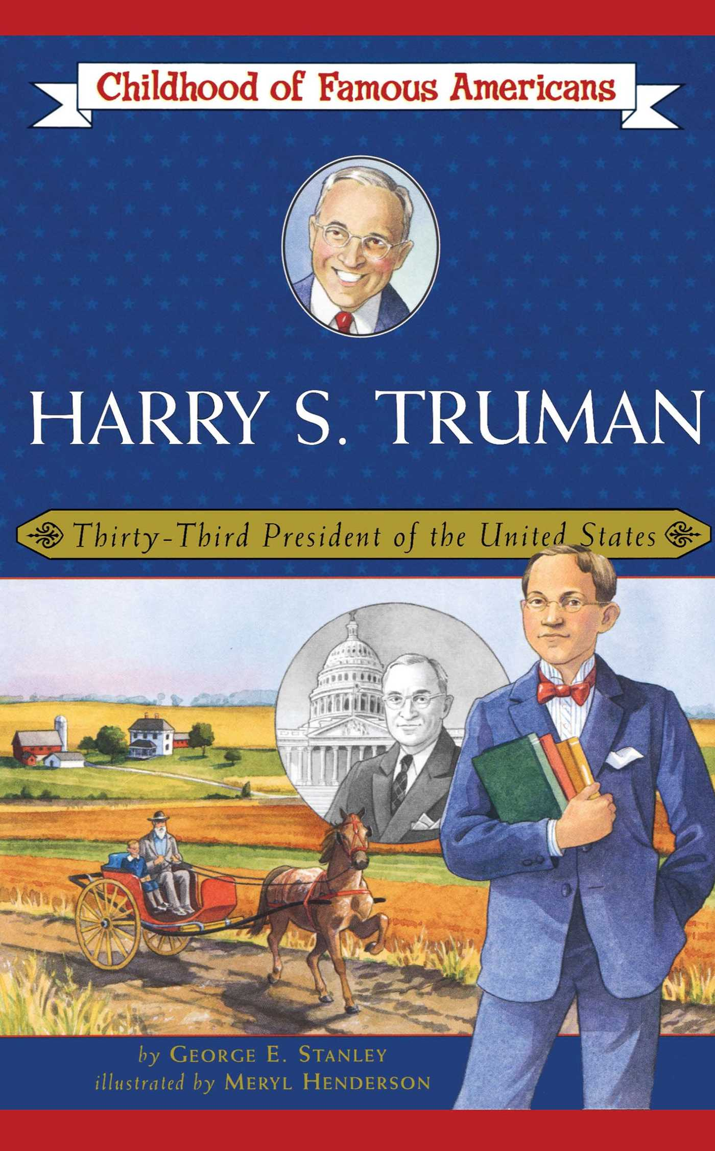 Harry s truman 9780689862472 hr