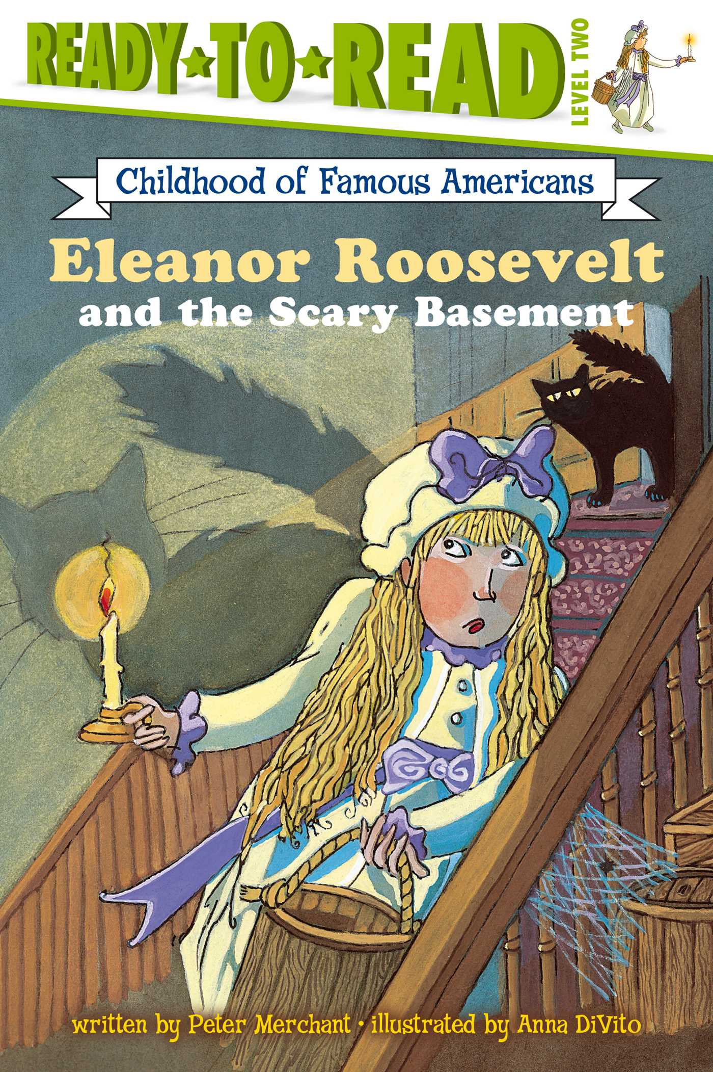 Eleanor roosevelt and the scary basement 9780689872051 hr