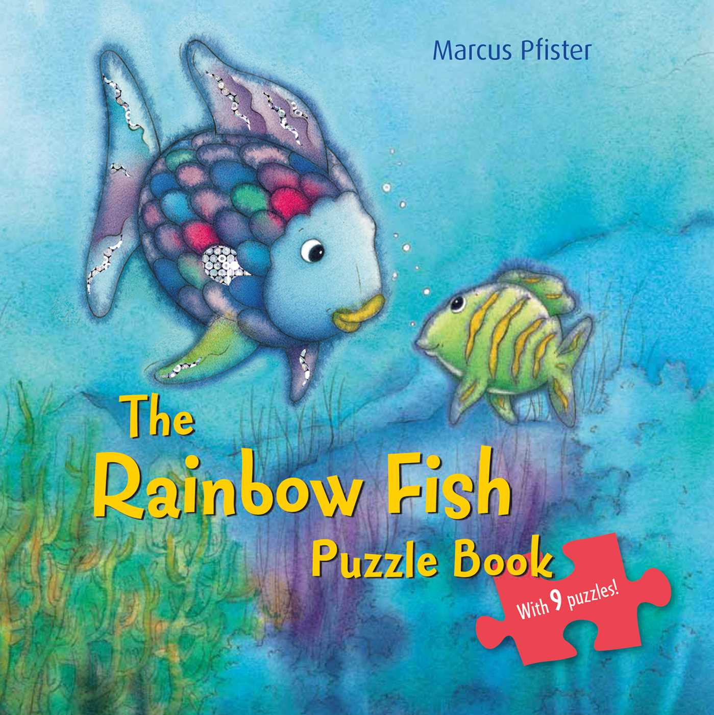 The rainbow fish puzzle book book by marcus pfister for The rainbow fish