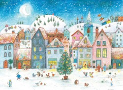 Wintervillage Advent Calendar