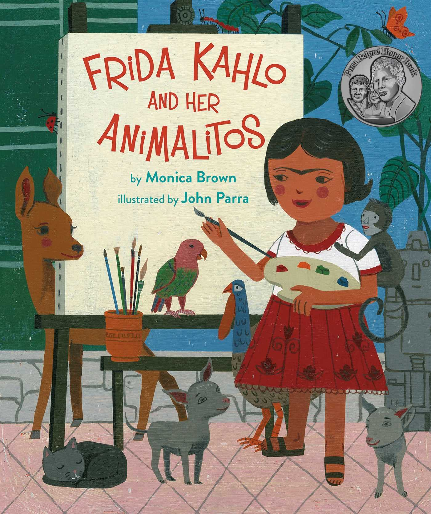 Frida kahlo and her animalitos 9780735842694 hr