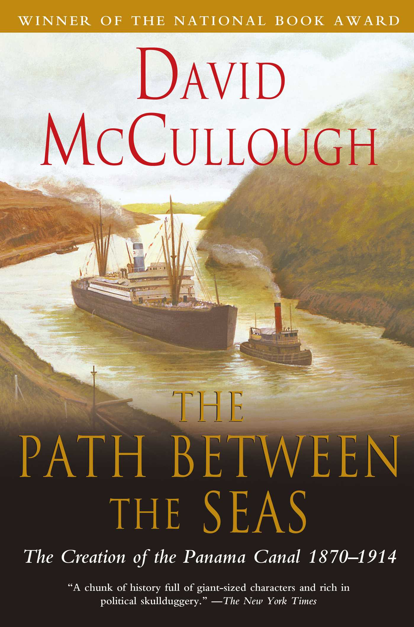 The Path Between The Seas 9780743201377 Hr