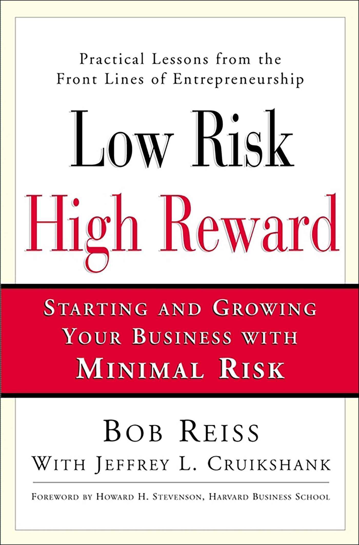 Low risk high reward 9780743203364 hr