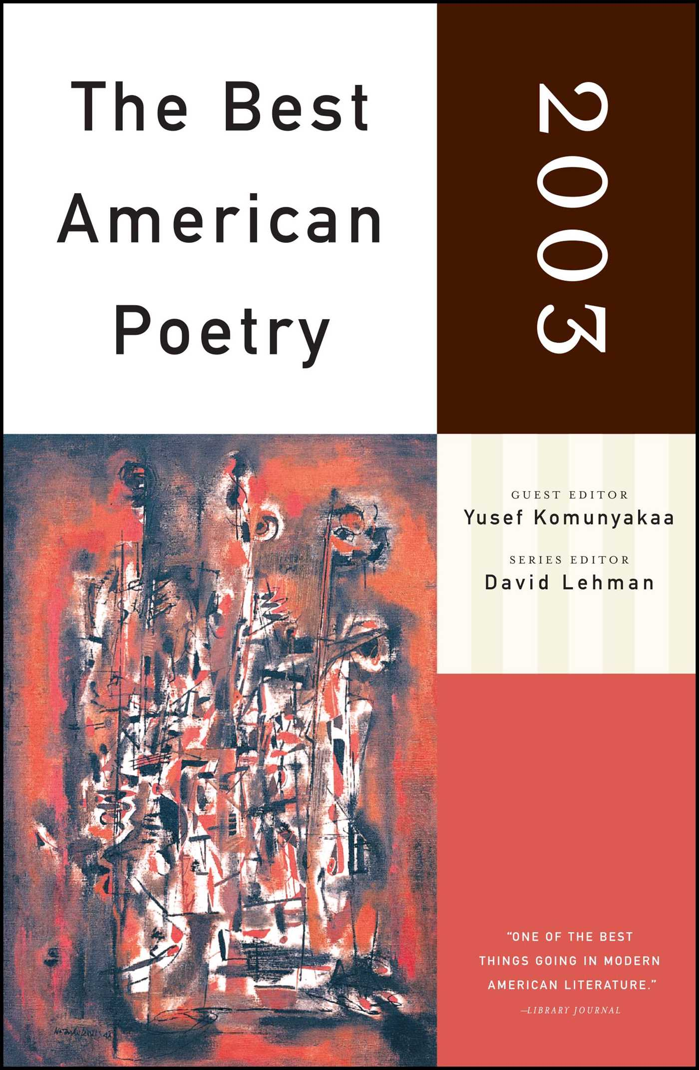 The best american poetry 2003 9780743203883 hr