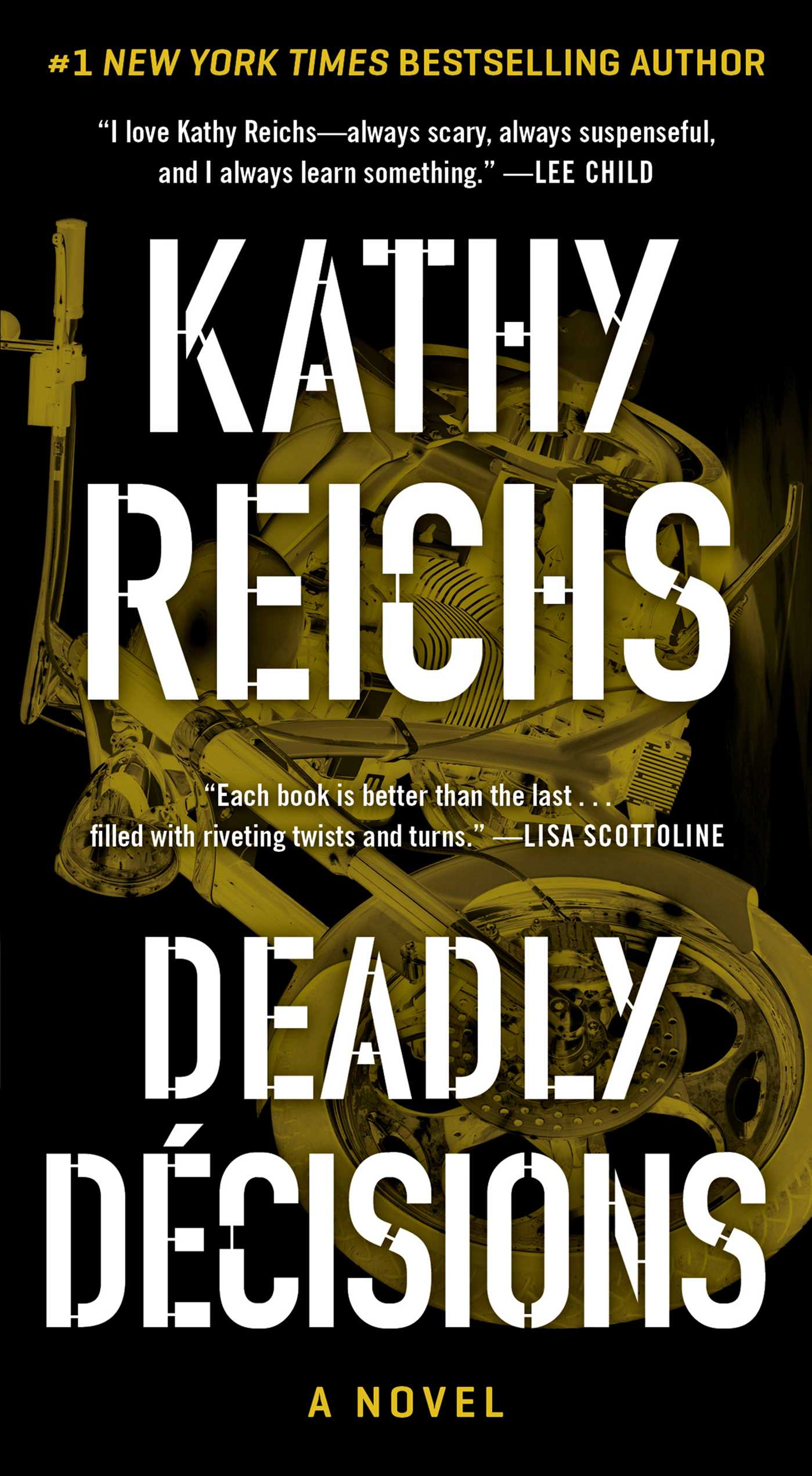 Kathy reichs official publisher page simon schuster canada book cover image jpg deadly decisions fandeluxe Image collections