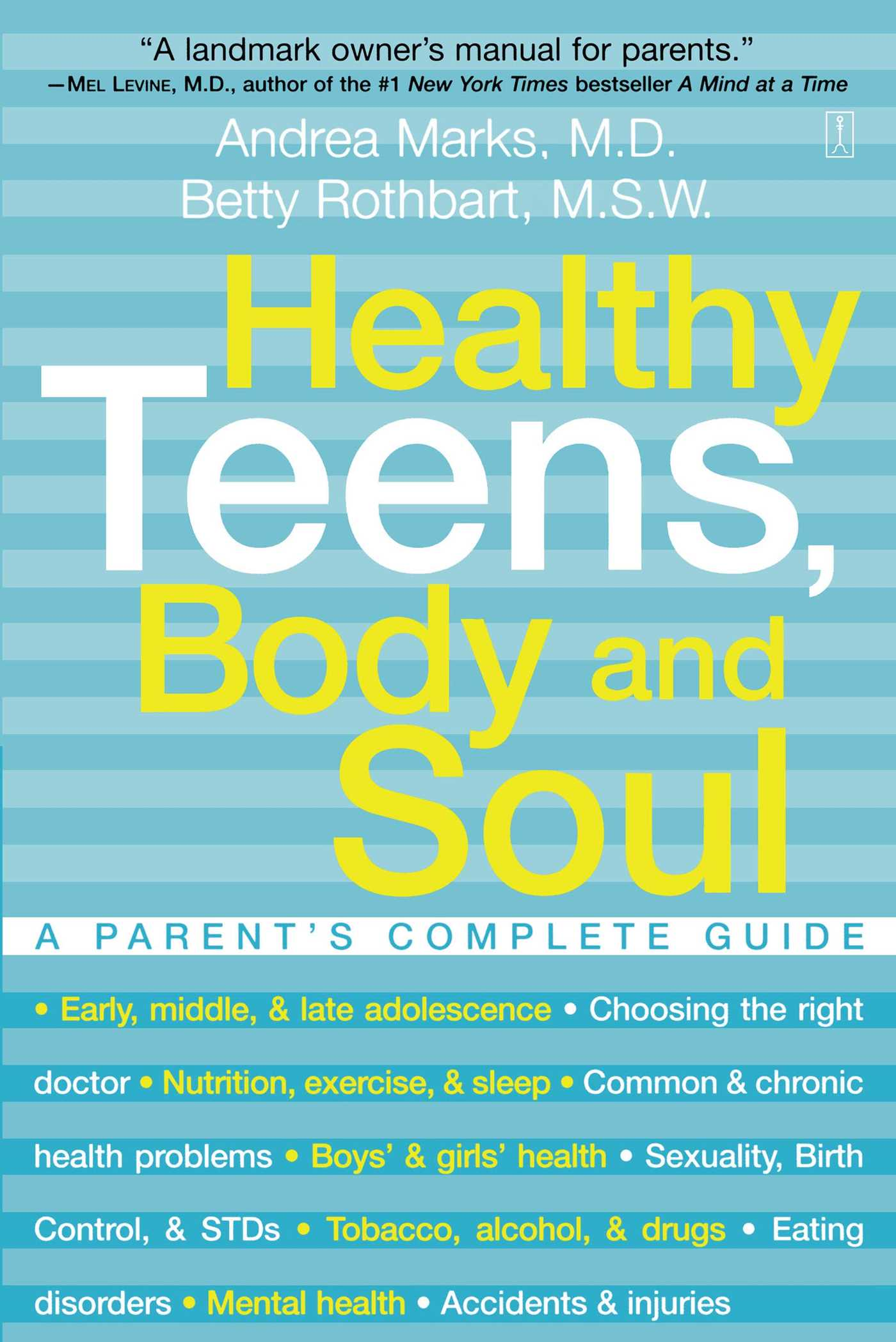 Healthy teens body and soul 9780743225618 hr