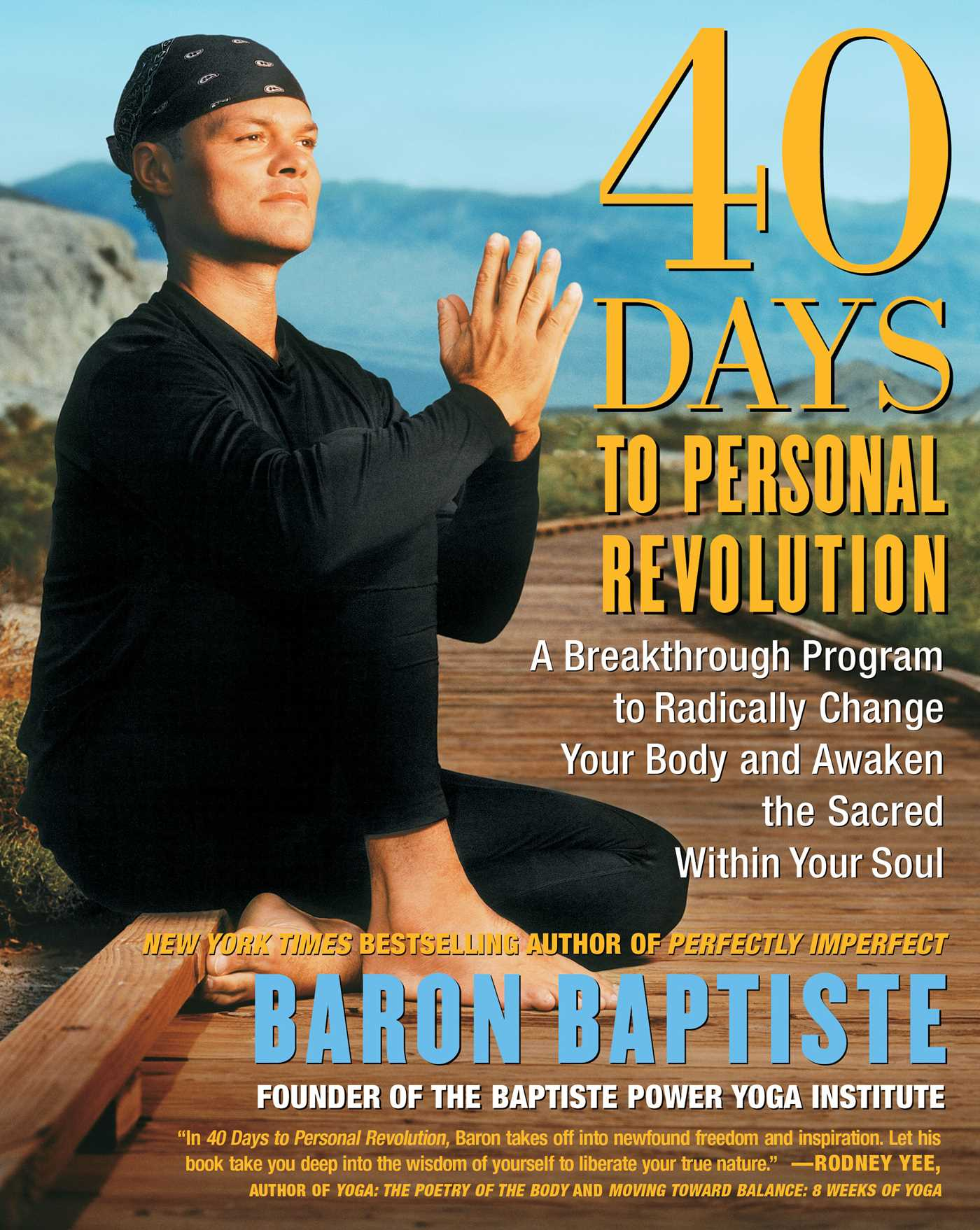 40 days to personal revolution 9780743227834 hr