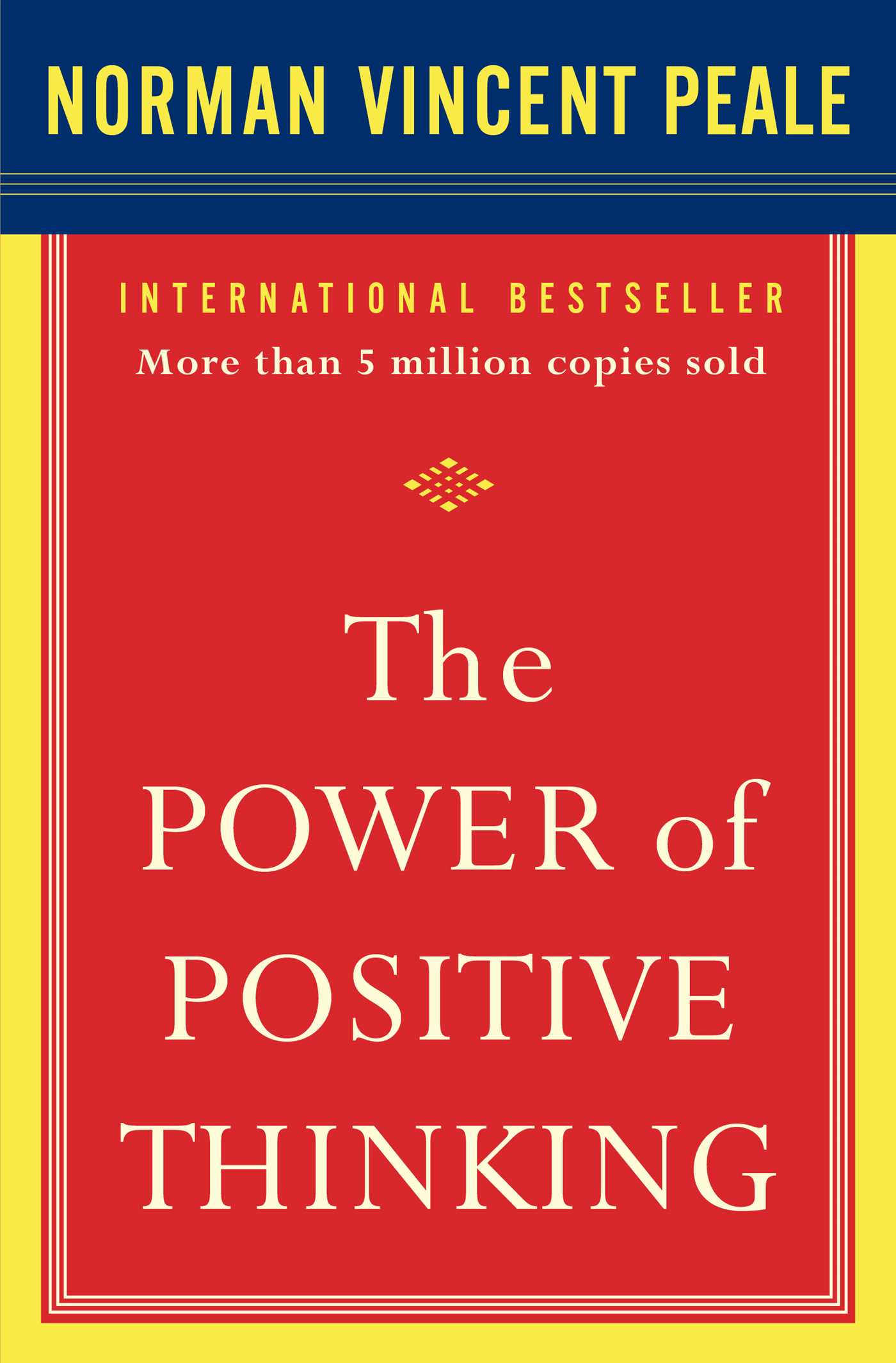 the power of positive thinking book by dr norman vincent peale  power of positive thinking 9780743234801 hr