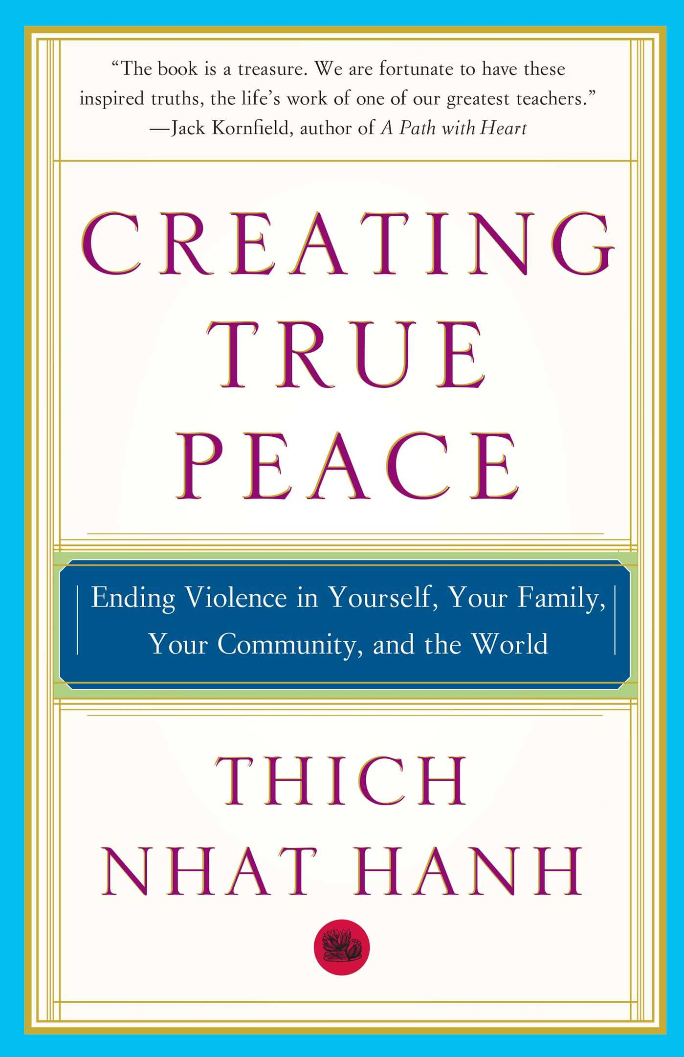 Creating true peace 9780743245203 hr
