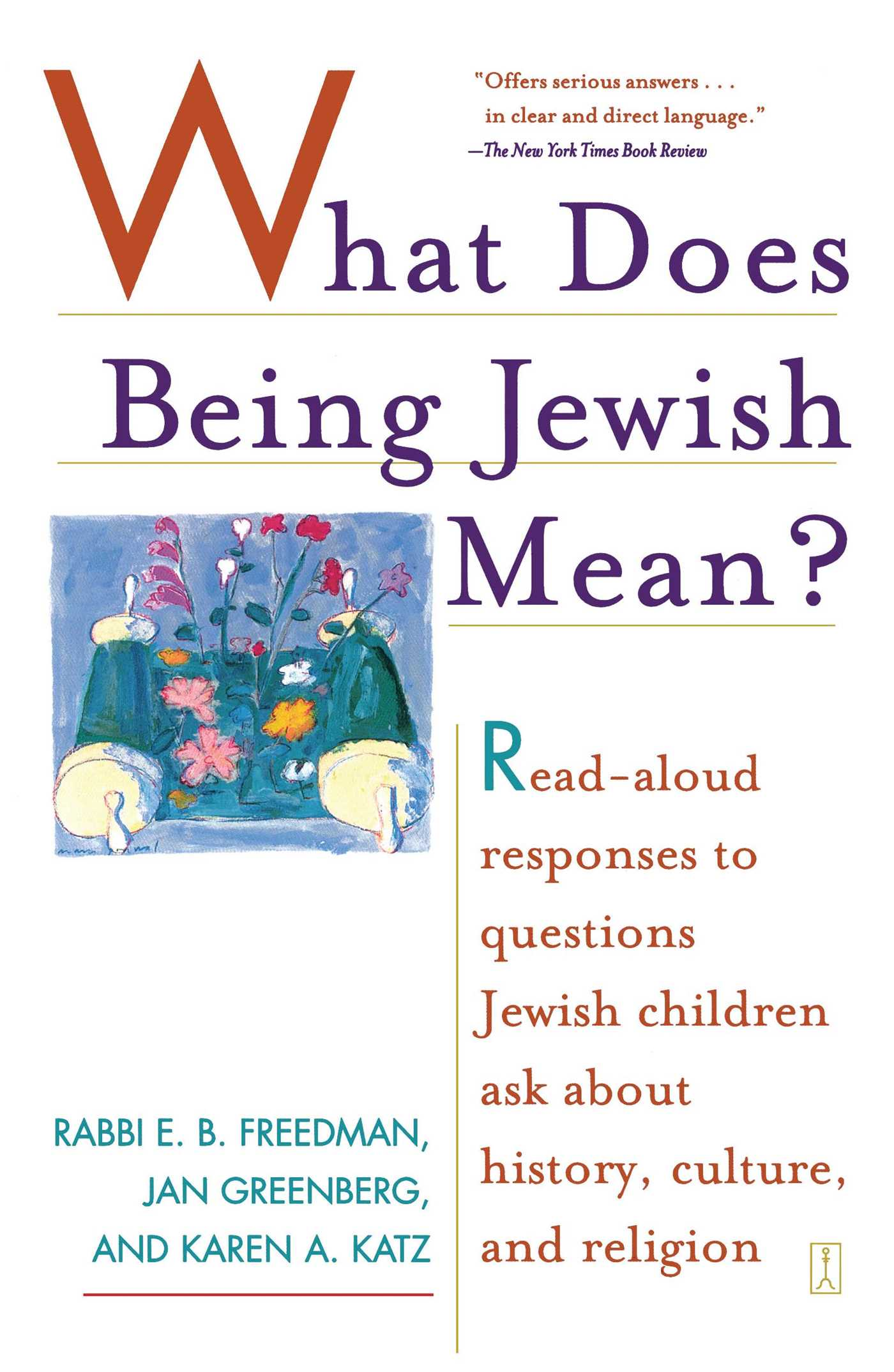 What does being jewish mean 9780743254137 hr