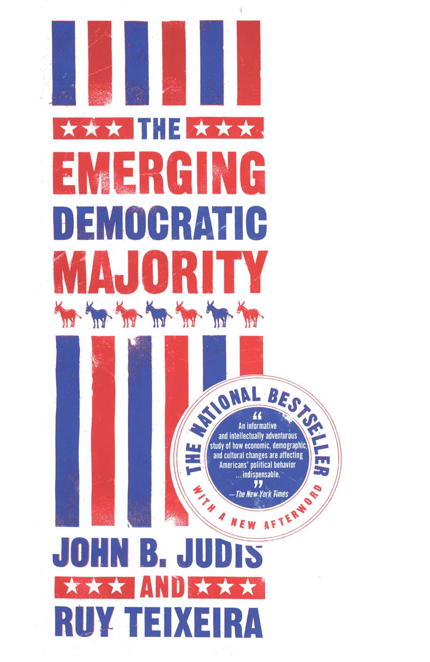 The emerging democratic majority 9780743254786 hr