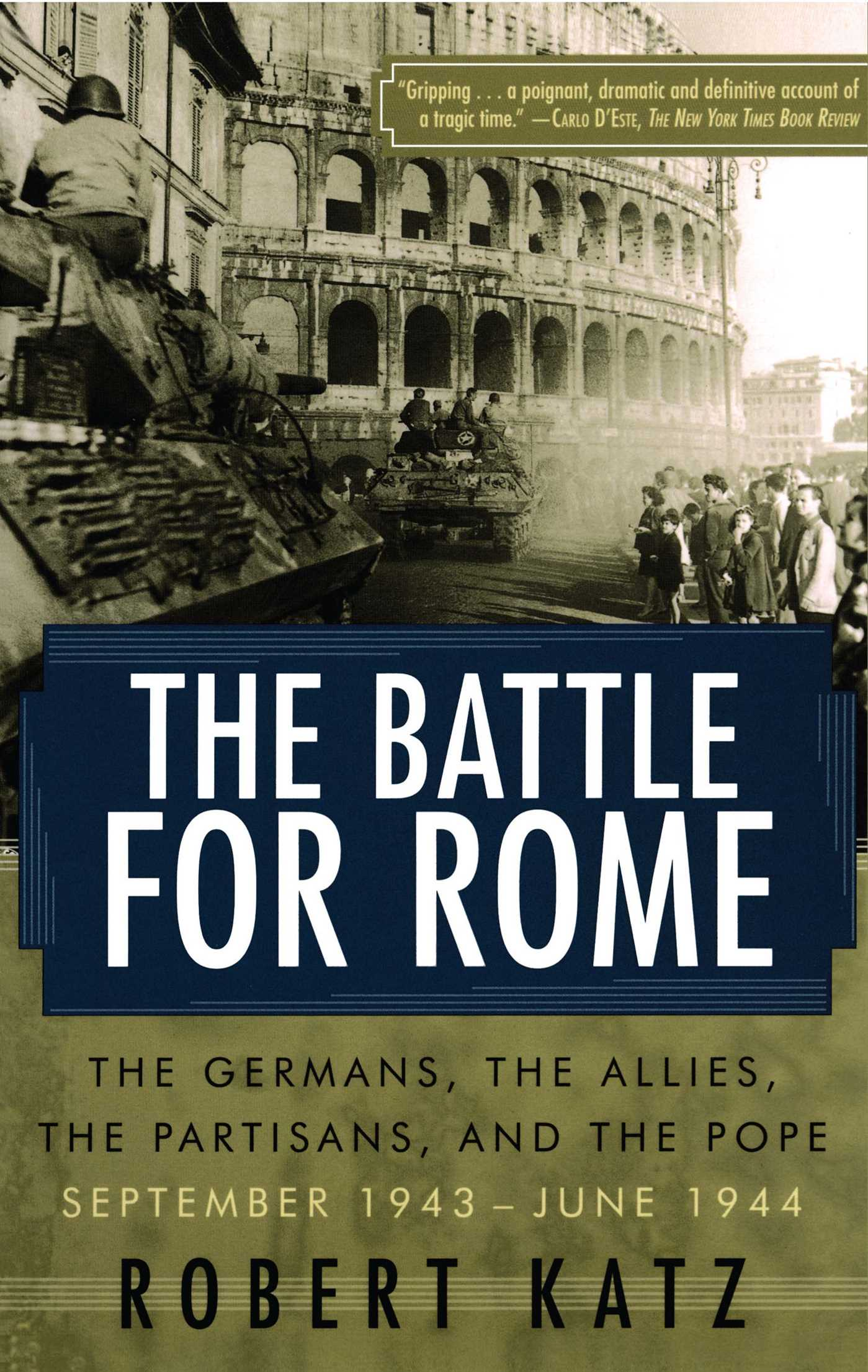 The battle for rome 9780743258081 hr