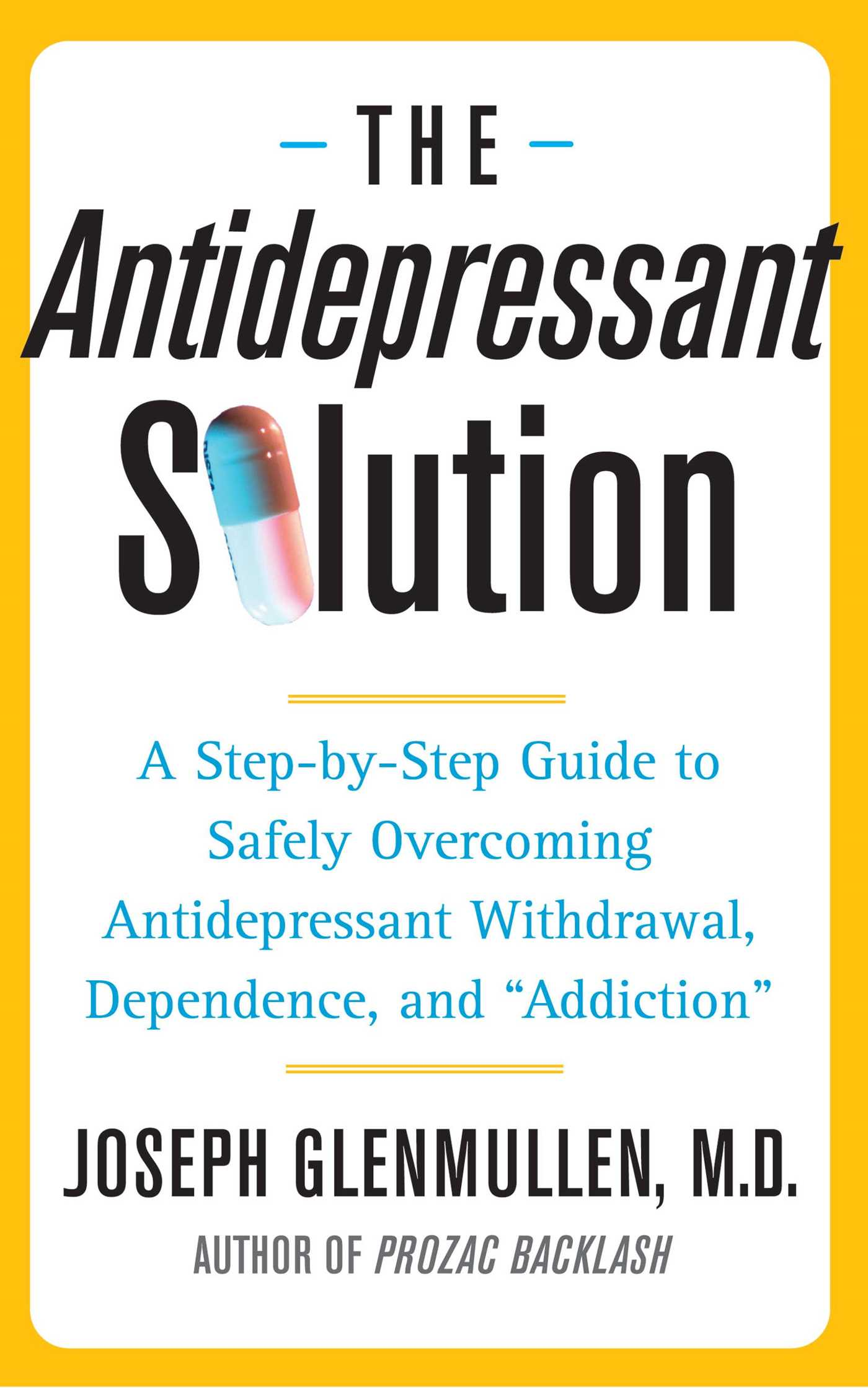 The antidepressant solution 9780743269735 hr