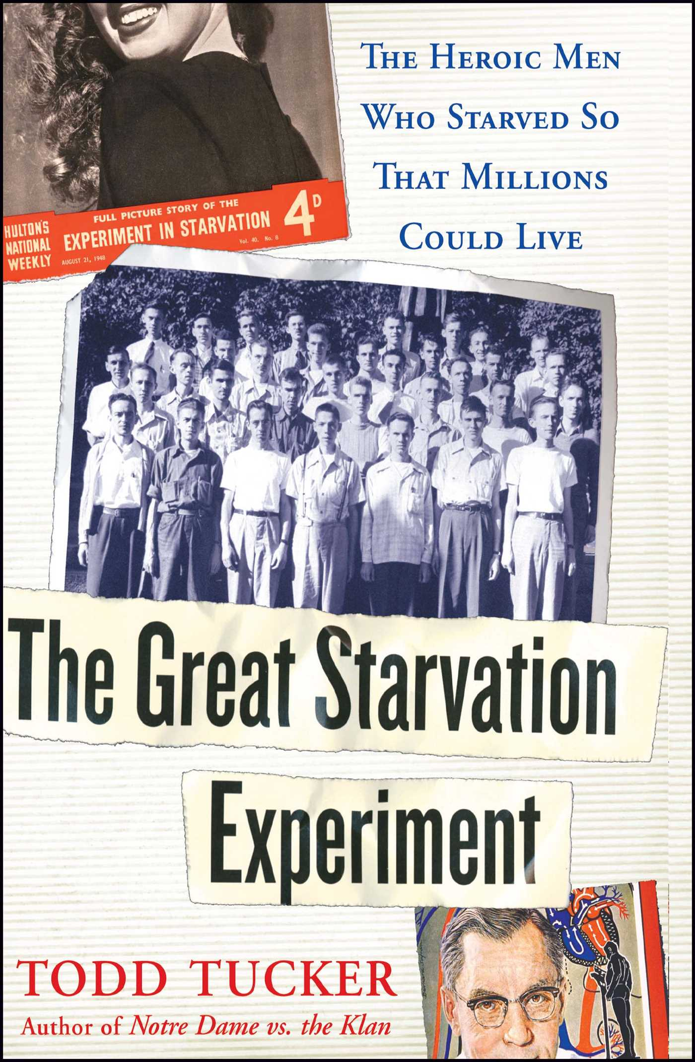 The great starvation experiment 9780743270304 hr