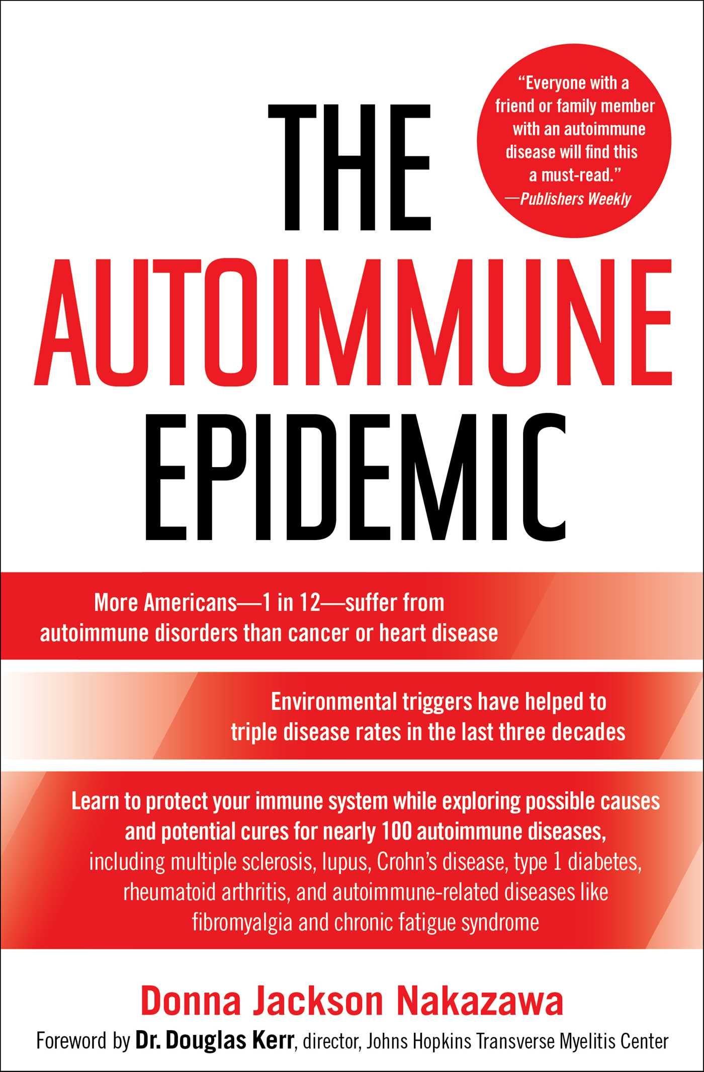 The autoimmune epidemic 9780743277761 hr