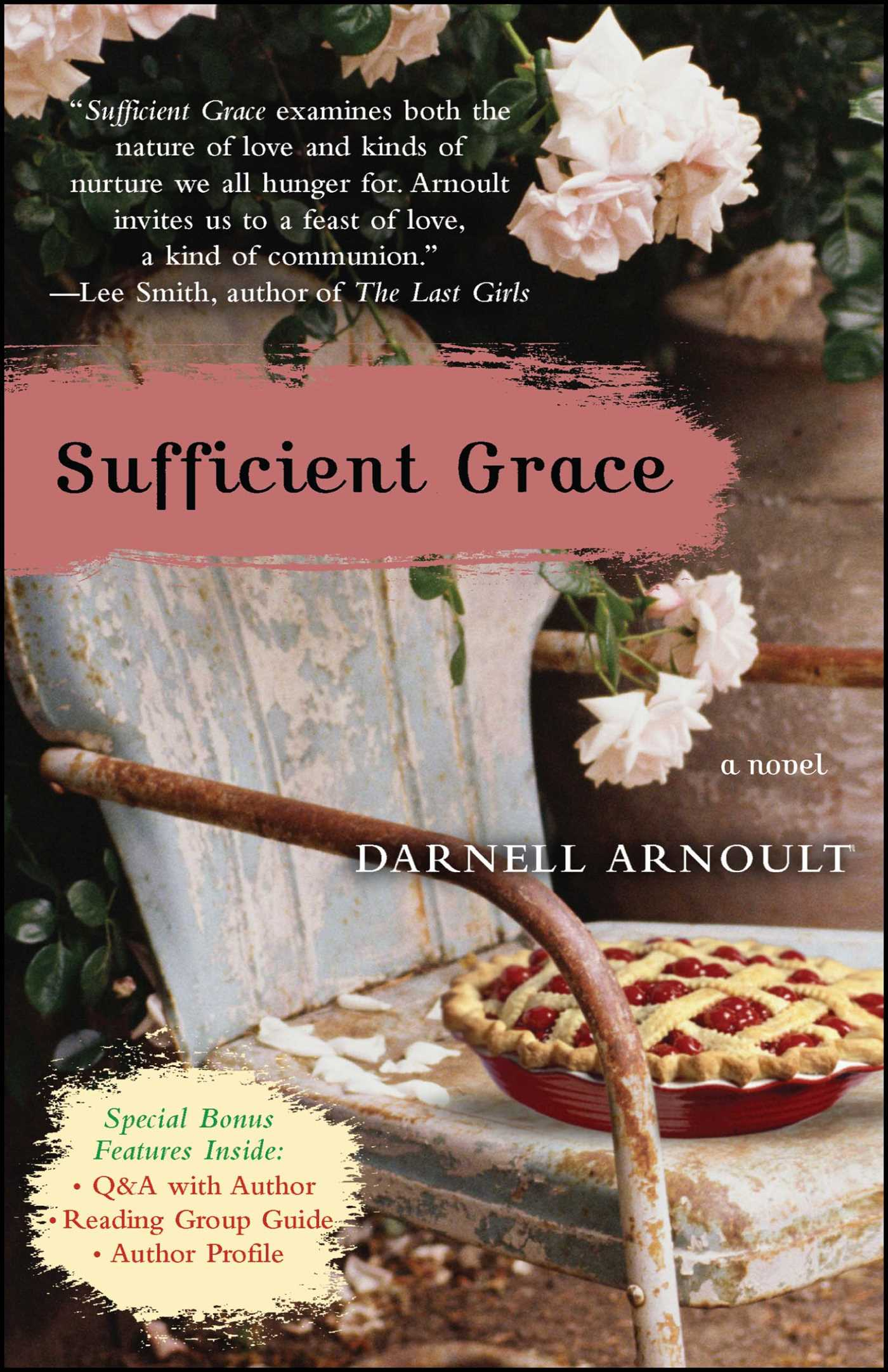 Sufficient grace book by darnell arnoult official publisher sufficient grace 9780743284486 hr fandeluxe Document