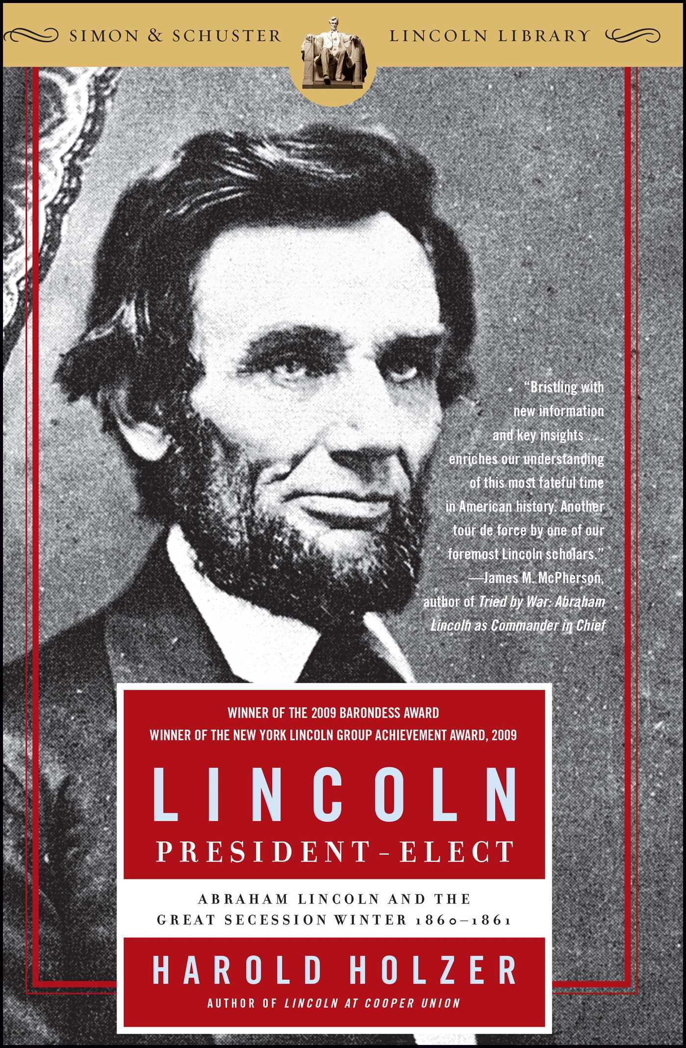 Lincoln president elect 9780743289481 hr