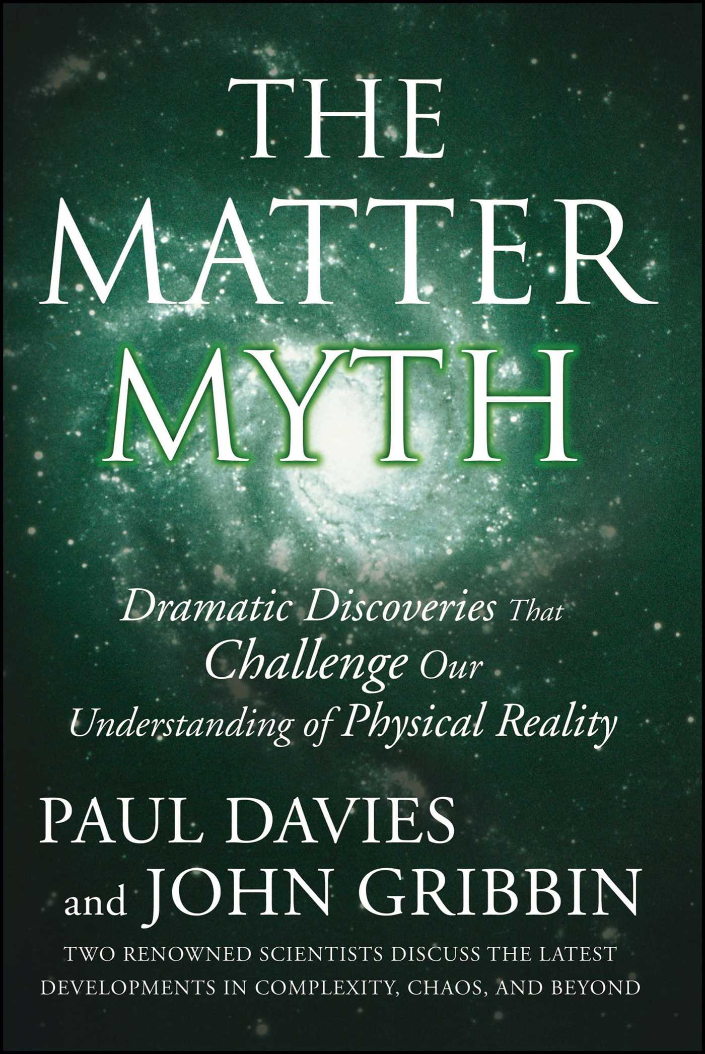 The matter myth 9780743290913 hr