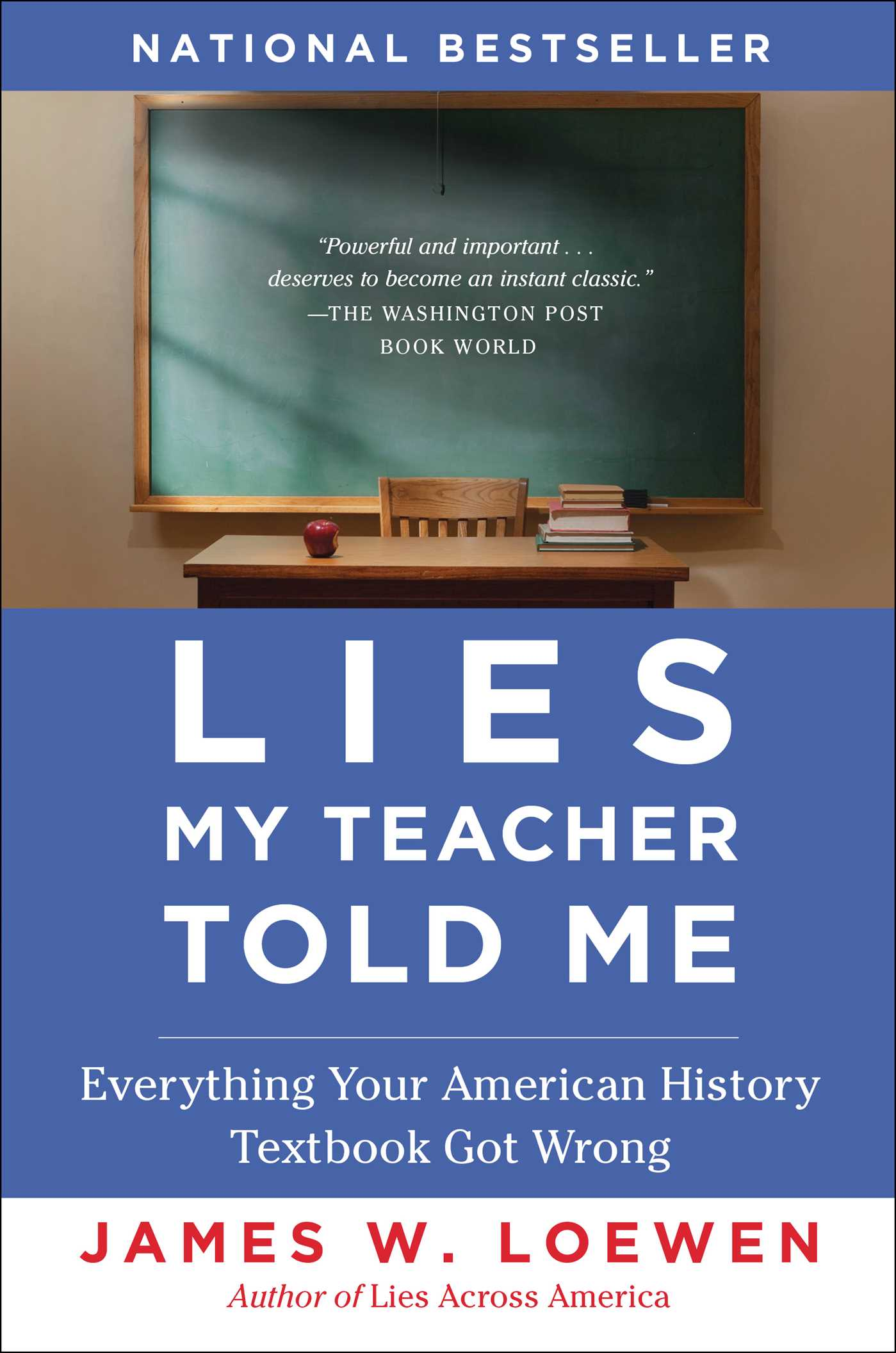 Lies My Teacher Told Me | Book by James W. Loewen ...