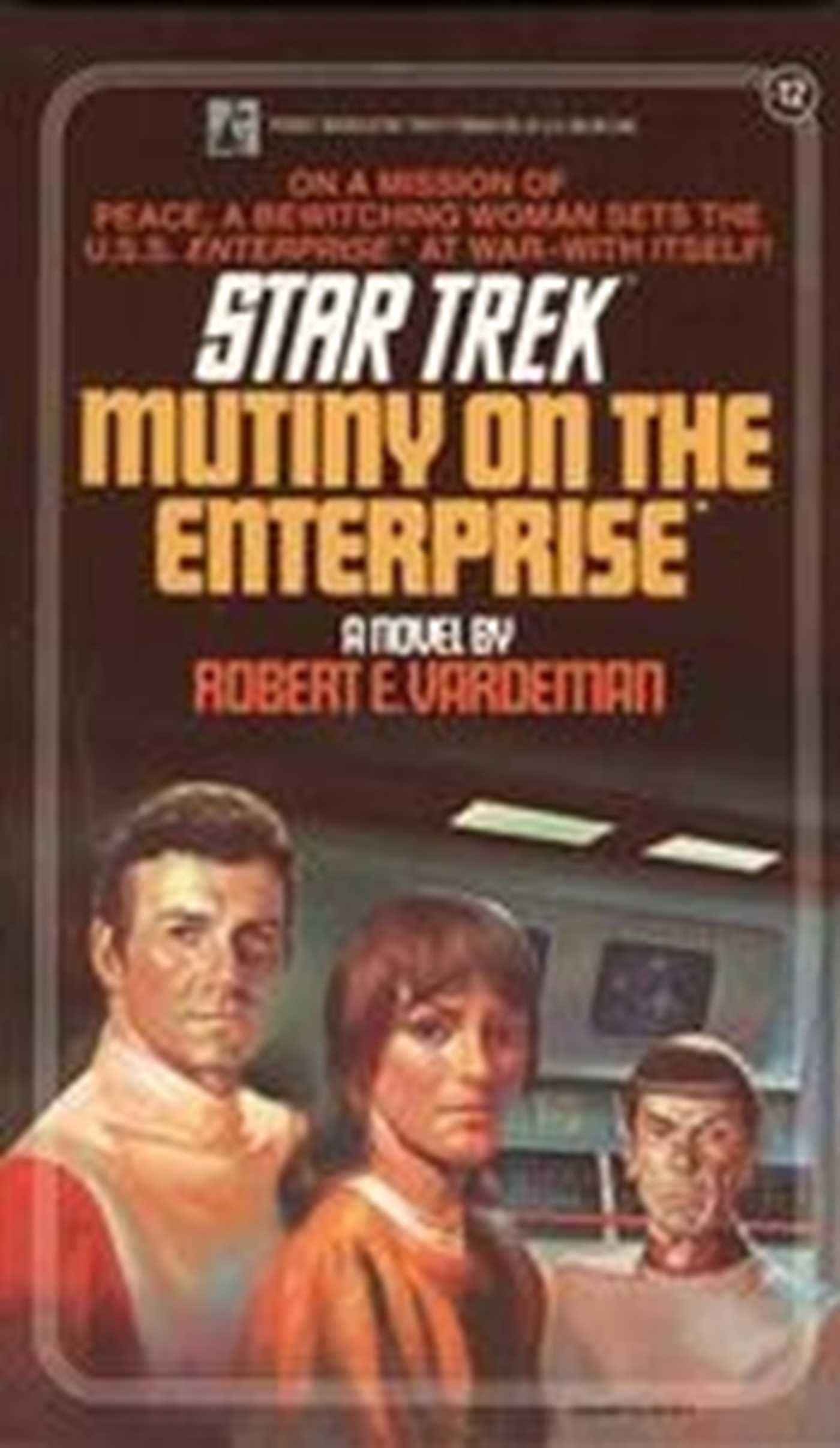 Mutiny on the enterprise 9780743419635 hr